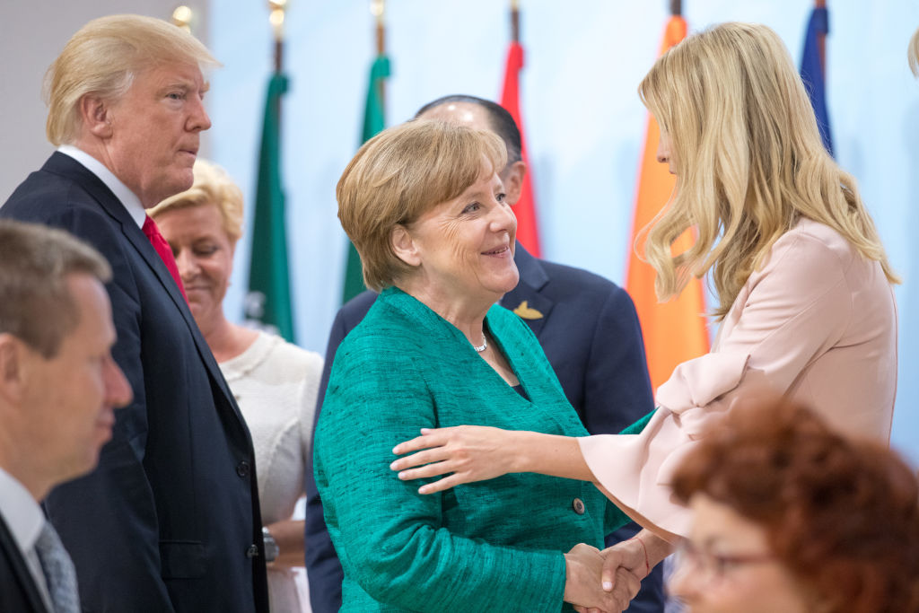 Ivanka Trump At Womens Entrepreneurship Facility Launch