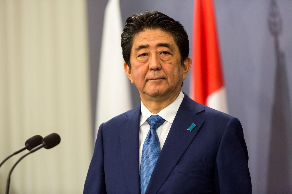 Japanese Prime Minister Shinzo Abe Visits Denmark