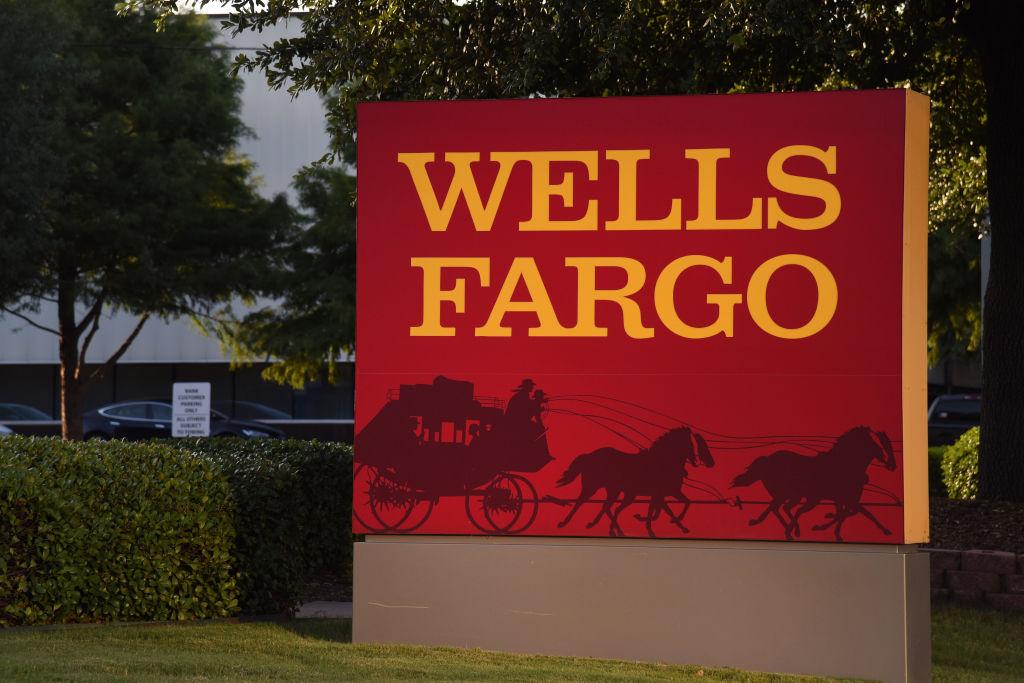 A Wells Fargo & Co. Bank Branch Ahead Of Earnings Figures