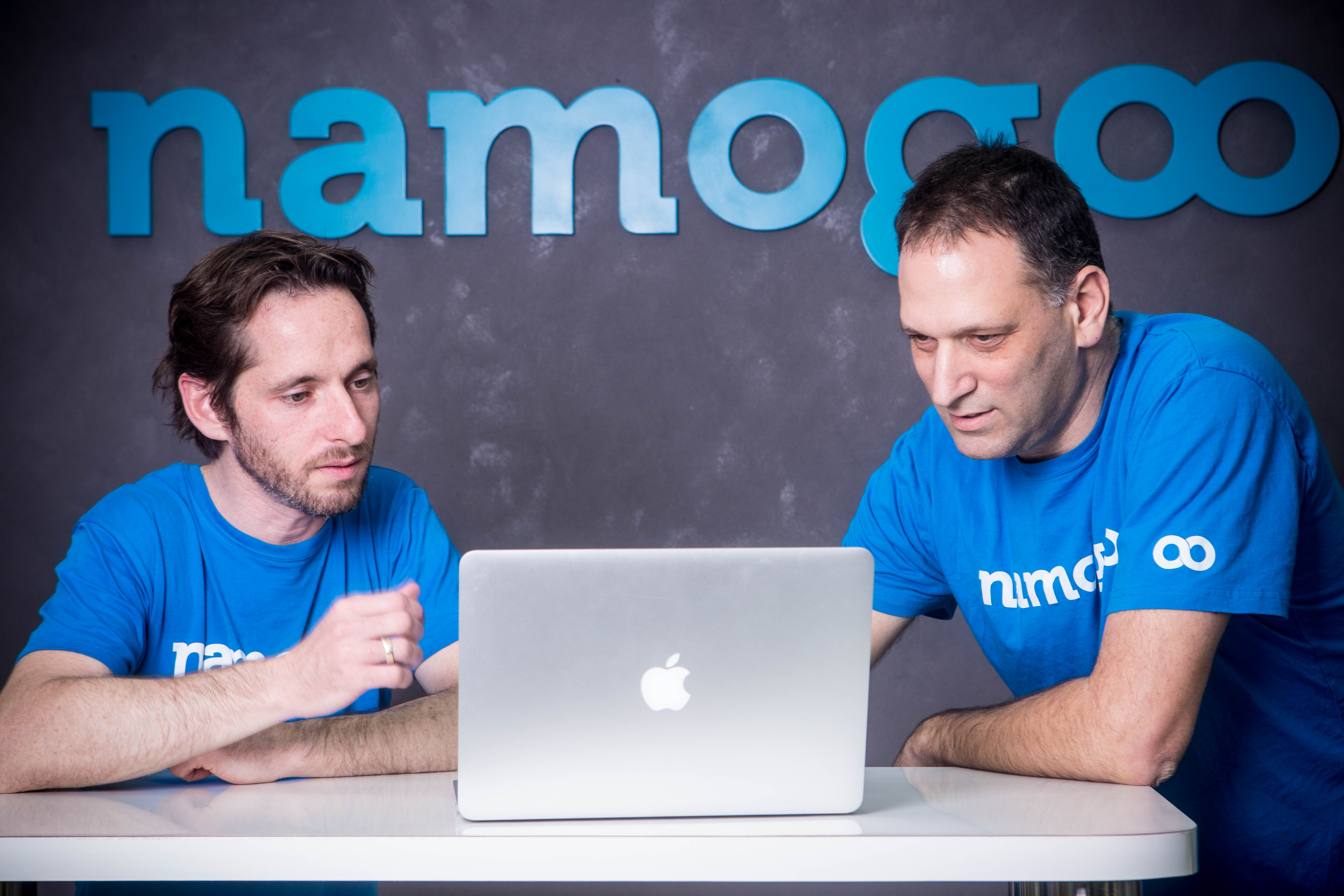 Namogoo co-founders Ohad Greenshpan (left) and Chemi Katz