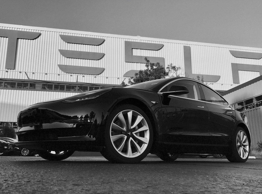 Tesla Model 3 Pictures Elon Musk Reveals Production Photos