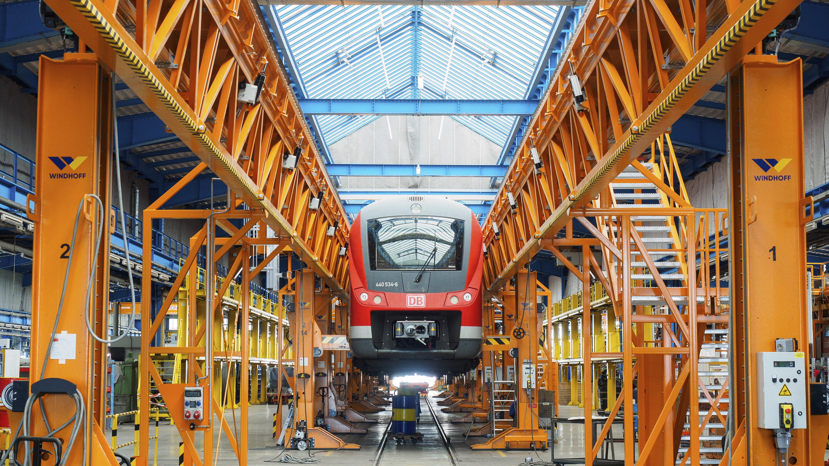 DB vehicle maintainence in Nuremberg