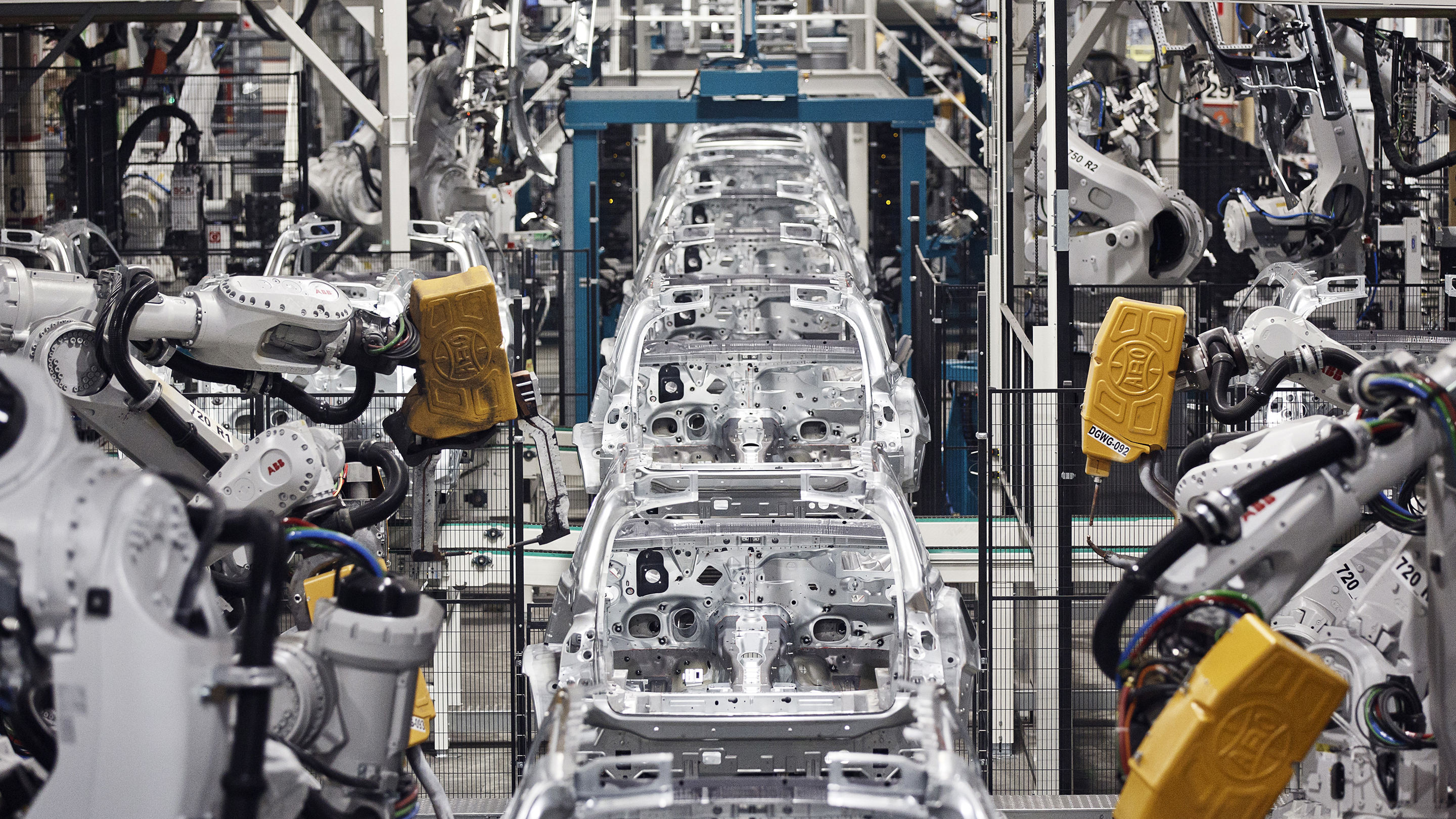 Mercedes-Benz AG Automobile Manufacture At Finland's Valmet Plant