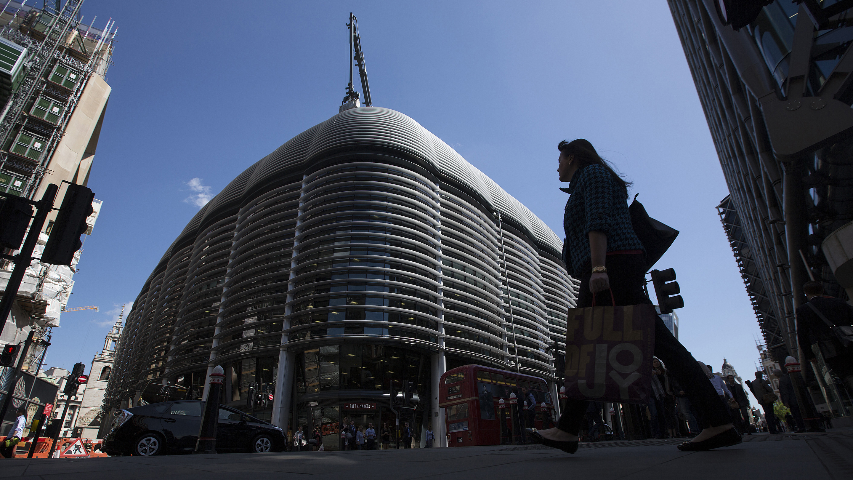 Cathay Life Insurance Co. Buys Walbrook Building In Biggest London Office Deal Of 2015