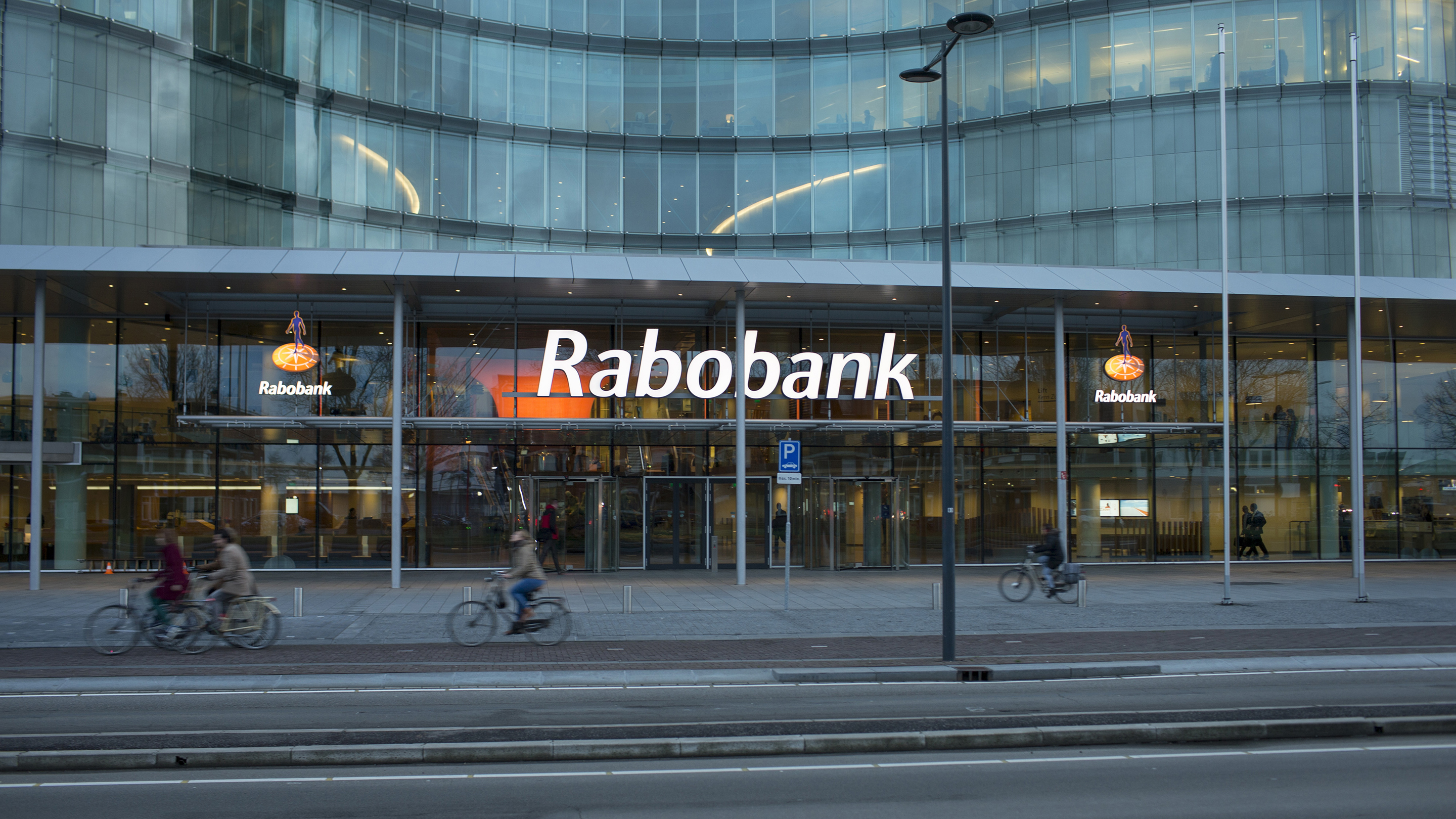 Rabobank Group's Headquarters As Netherlands' Biggest Mortgage Lender Plans Jobs Overhaul