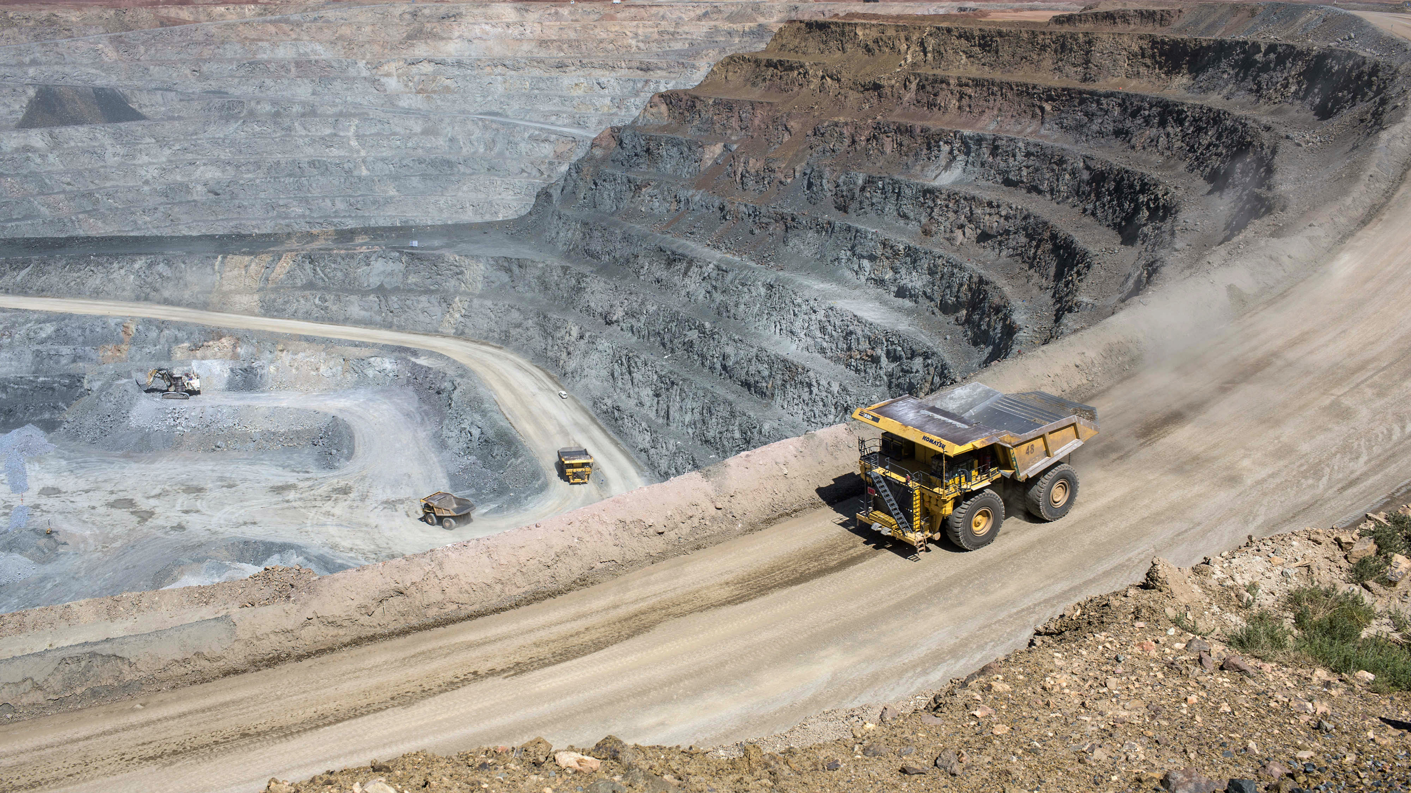 Operations At The Oyu Tolgoi Copper-Gold Mine