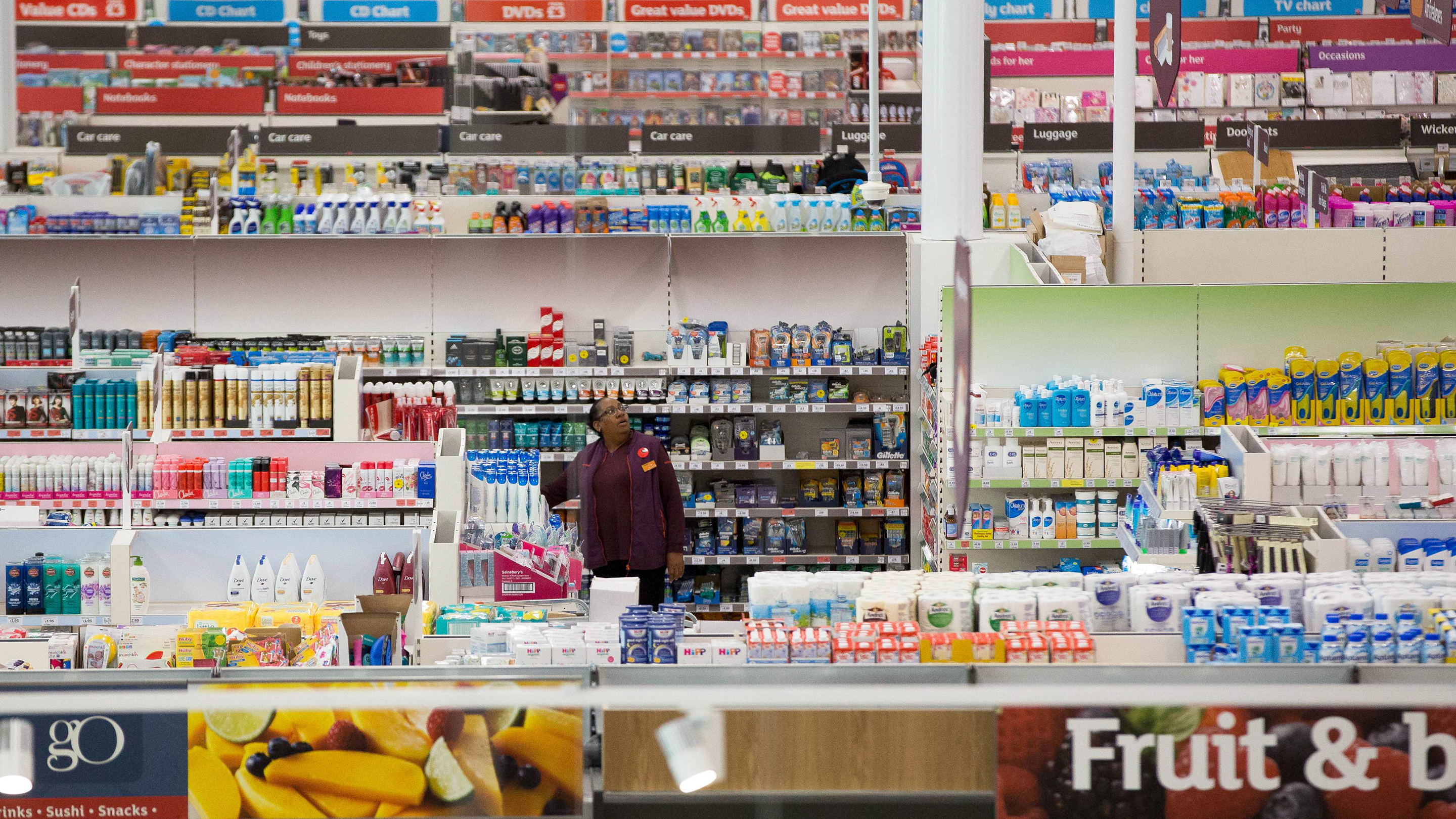 Inside J Sainsbury Plc Flagship Store Following Their Acquisition Of Home Retail Group