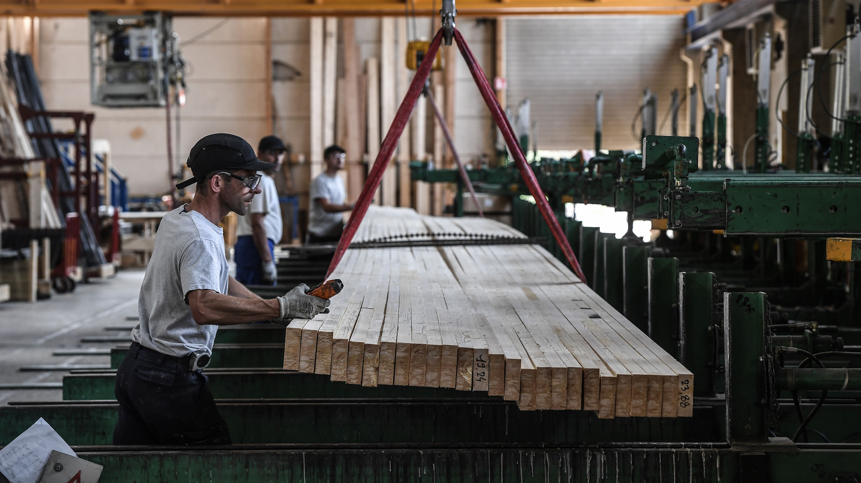FRANCE-ECONOMY-CONSTRUCTION-ARBONIS-WOOD