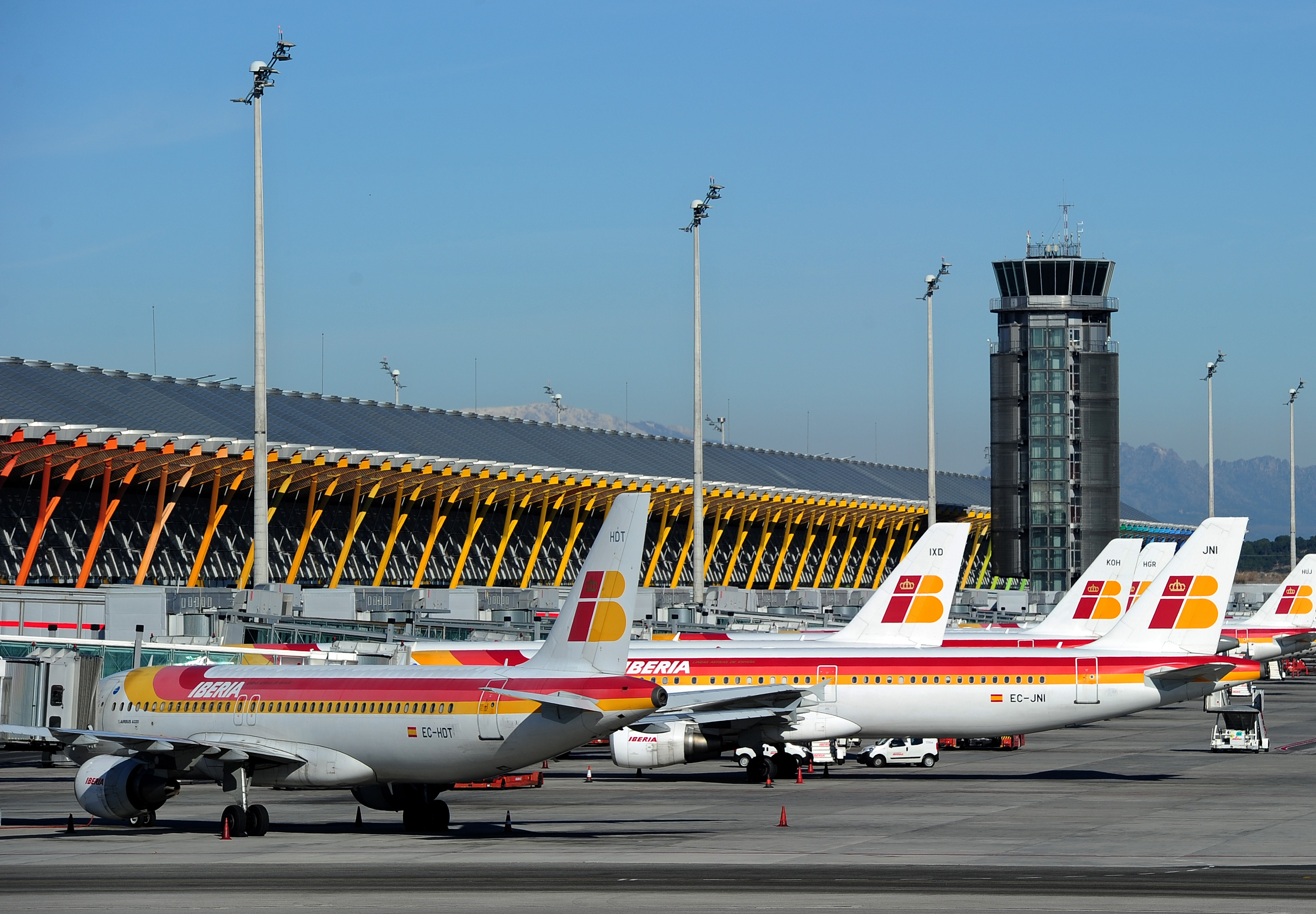 Madrid Airport Crippled By Sudden Strike