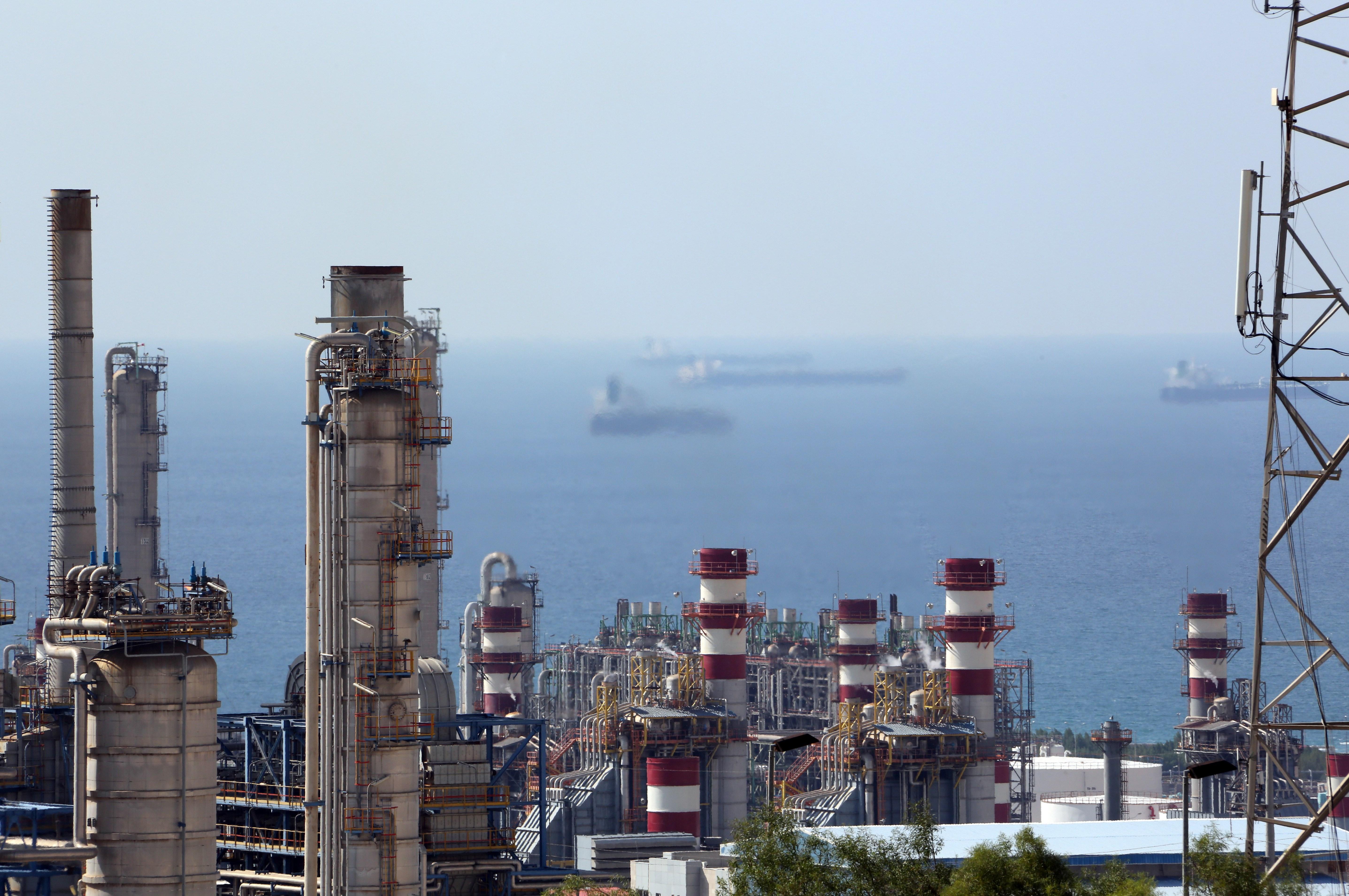 IRAN-ENERGY-GAS-SOUTH PARS