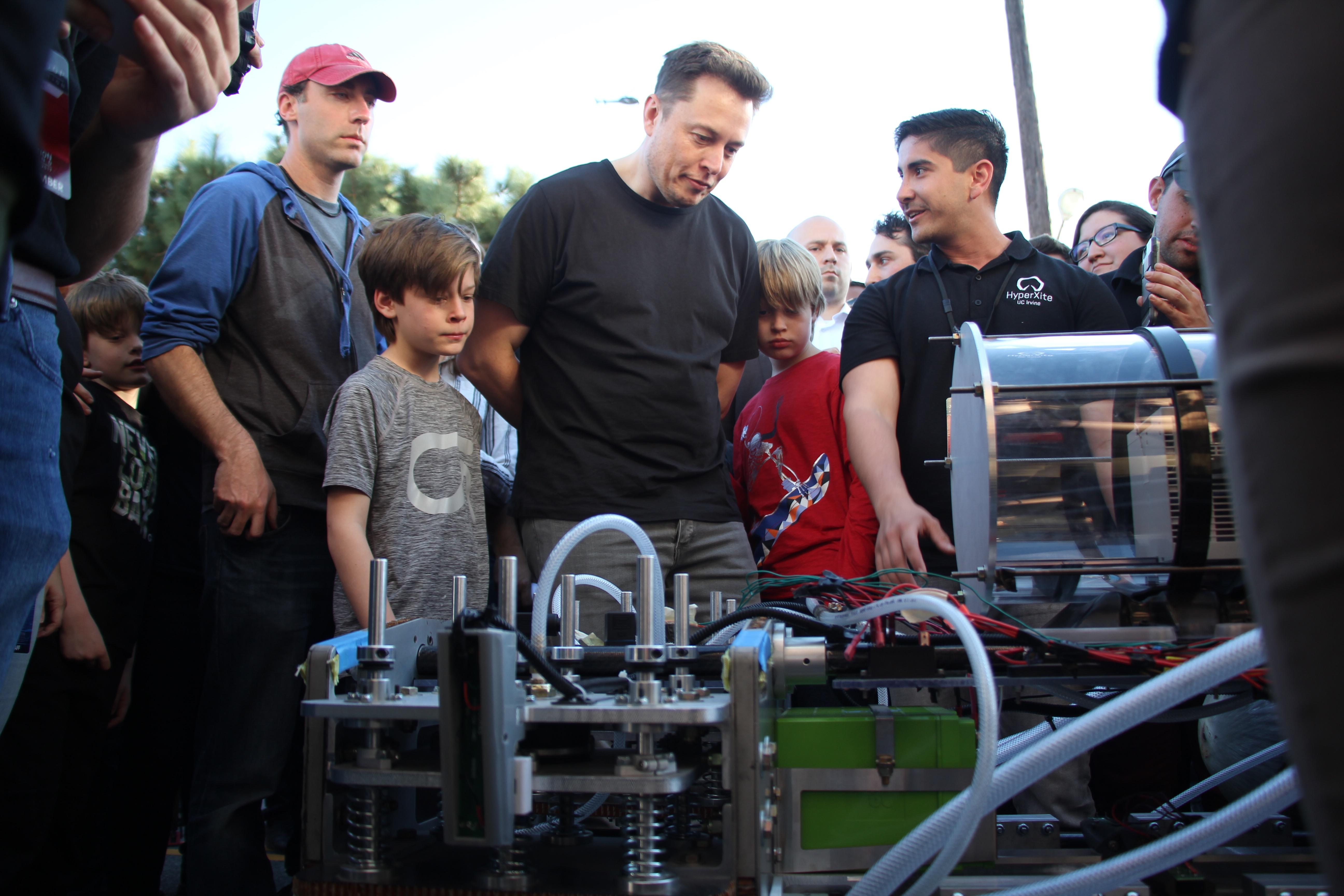 Elon Musk and Hyperloop