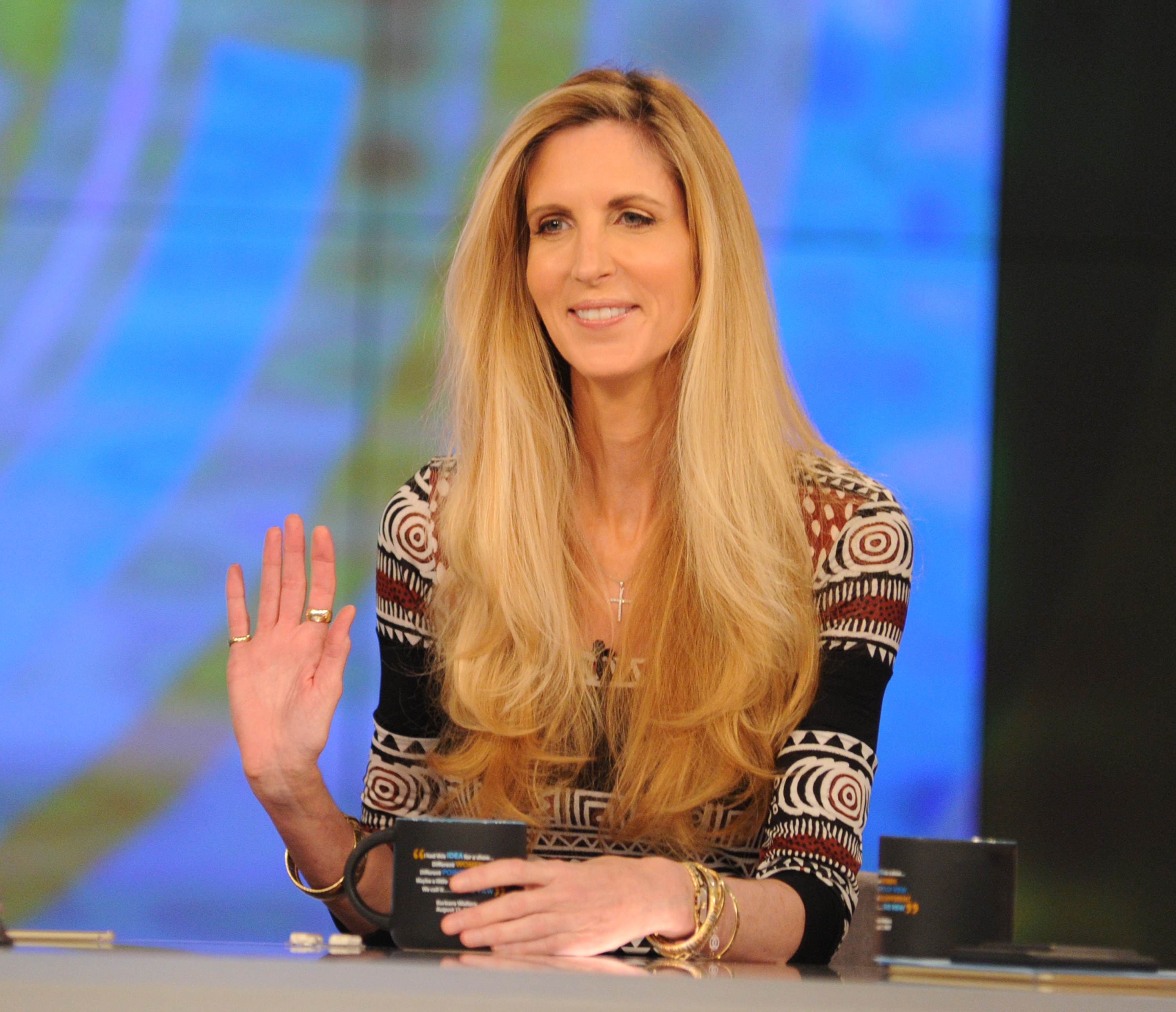 "THE VIEW - Ann Coulter is the guest, Monday, May 1, 2017 on ABC's ""The View."""