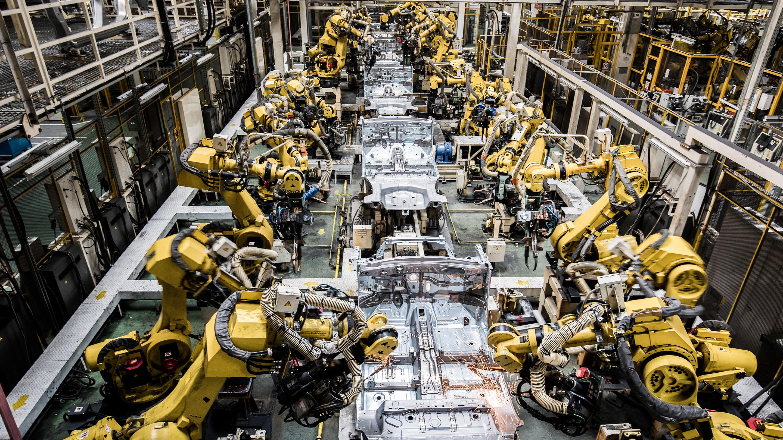 Automobile Manufacture At Suzuki Motor Corp. Hunagrian Factory