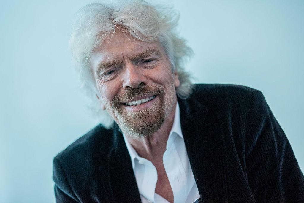 Virgin Group Ltd. Founder Richard Branson Interview