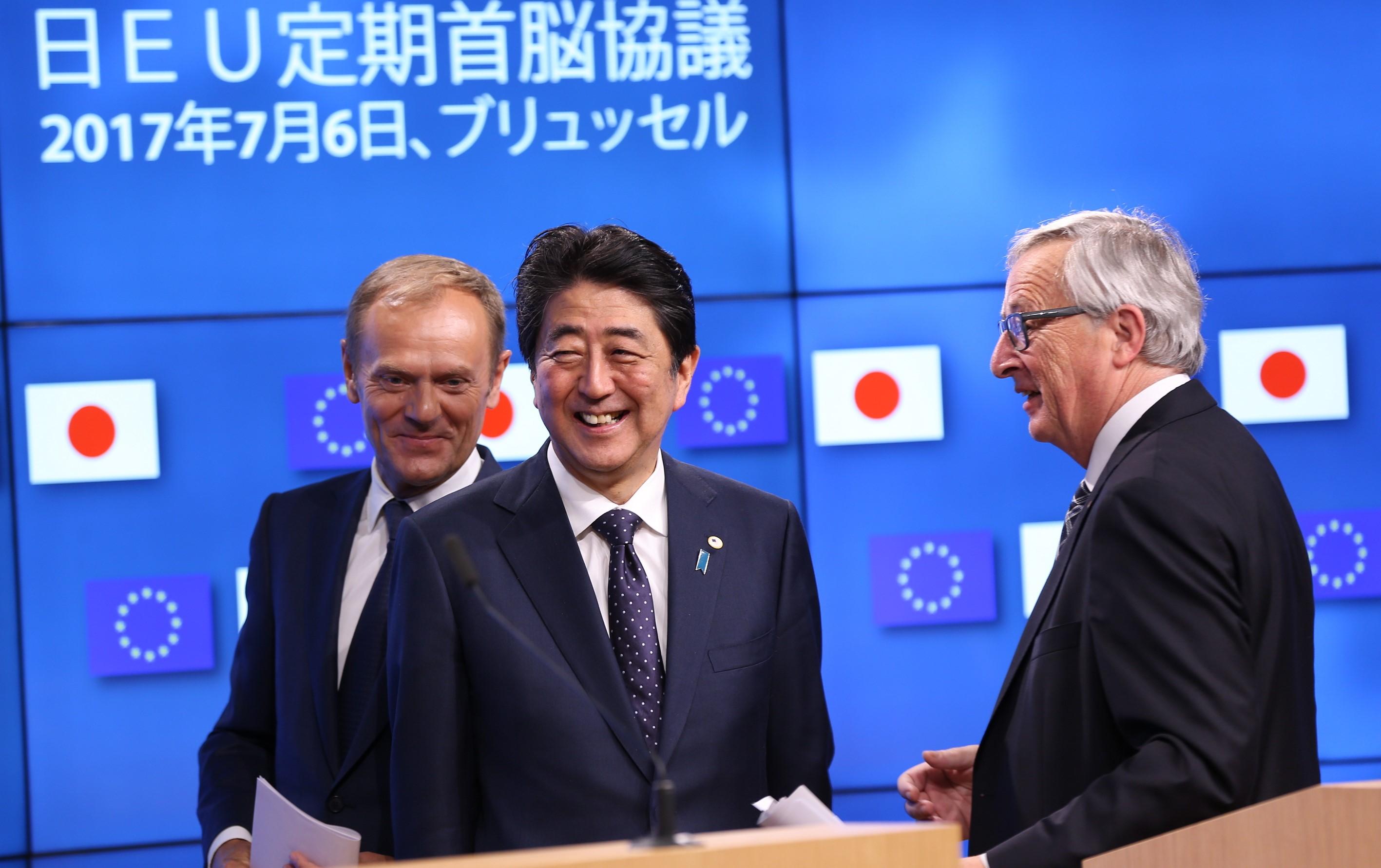 EU - Japan Summit in Brussels