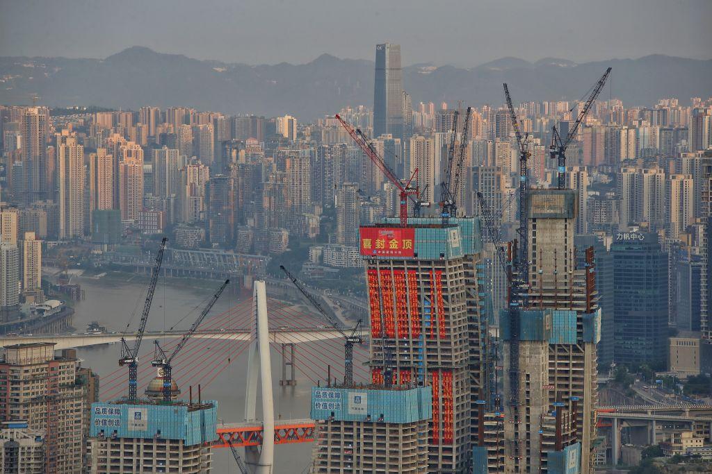 Raffles City Chongqing Under Construction