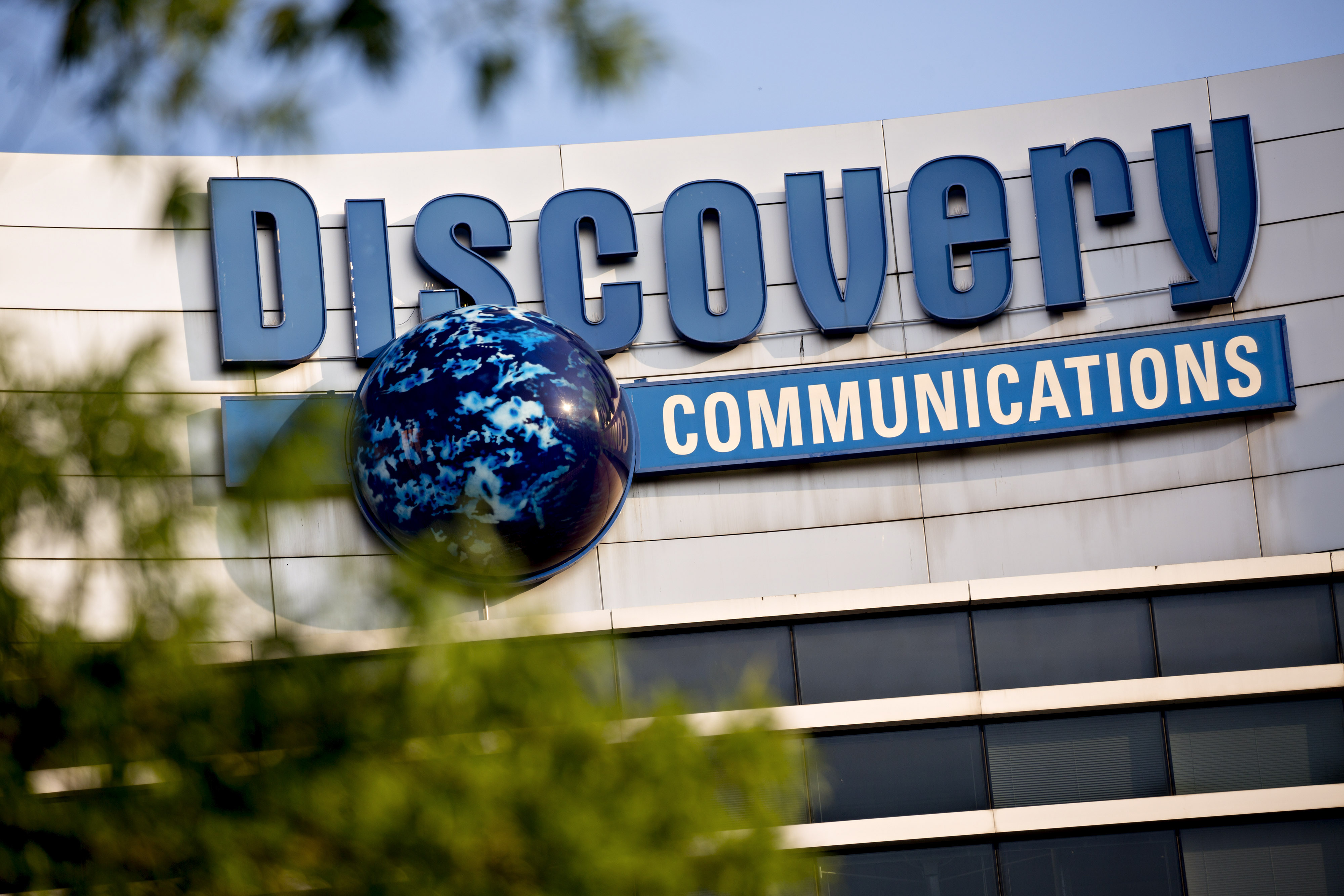 Views Of The Discovery Communications Inc. Headquarters During Talks To Combine WithScripps Networks