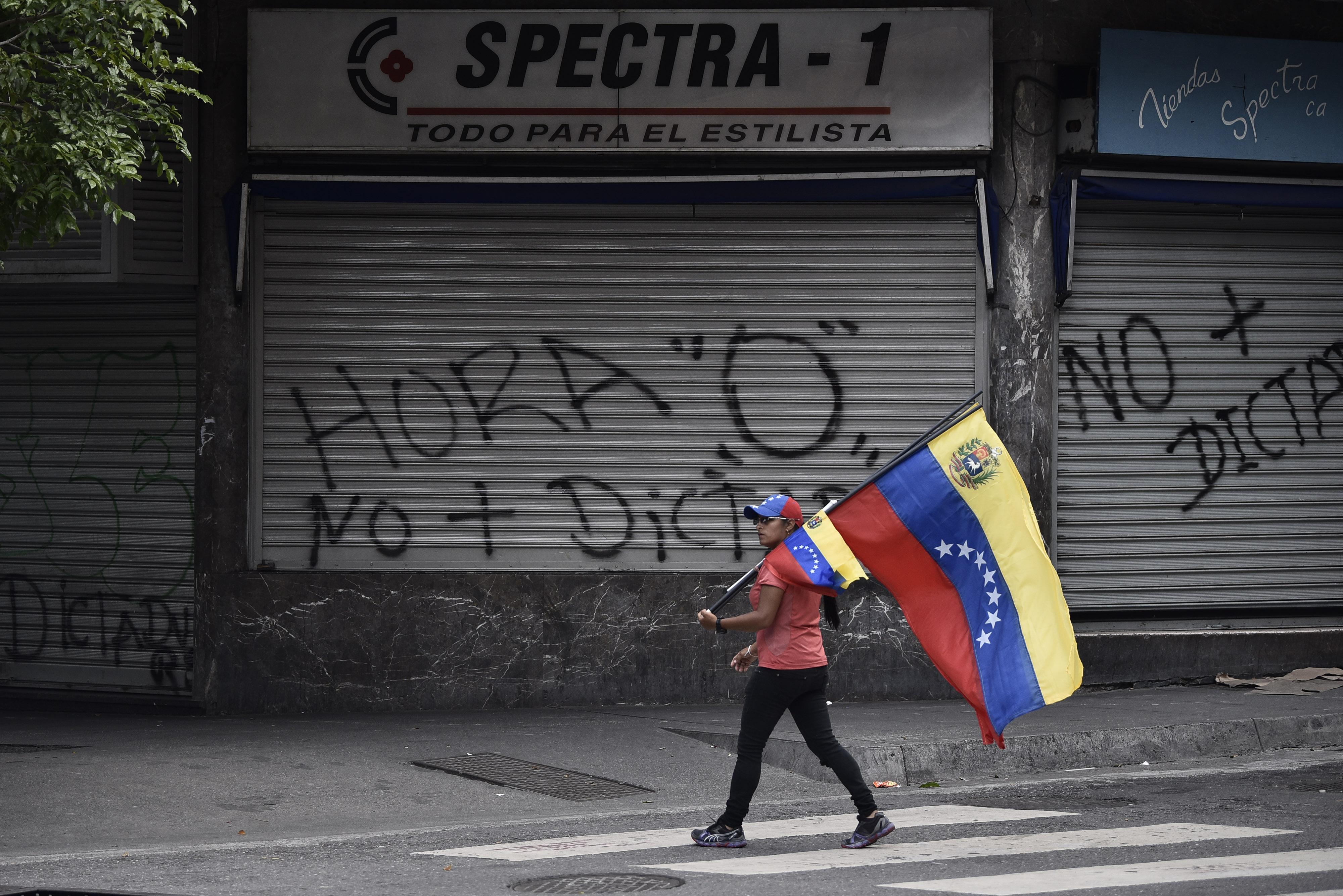 Businesses Shut Amid The Opposition National Strike