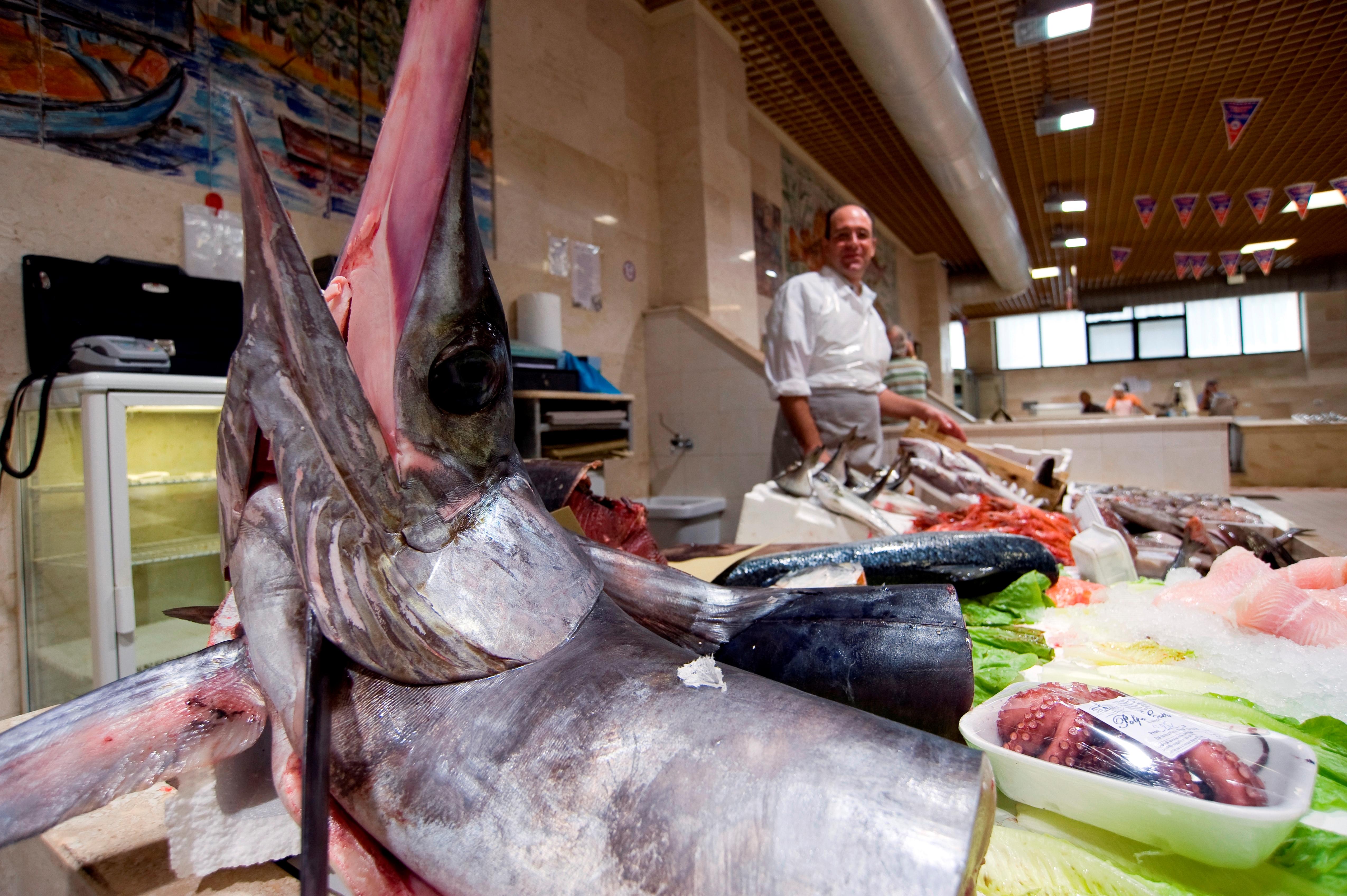 Mercato San Benedetto. Cagliari. Sardinia. Italy