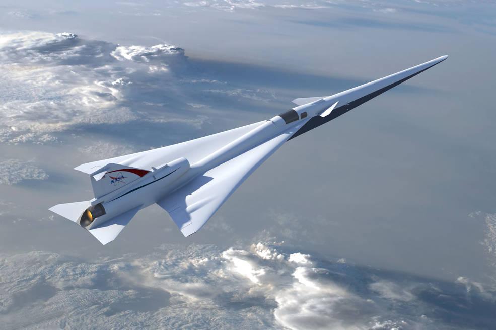 low boom supersonic jet