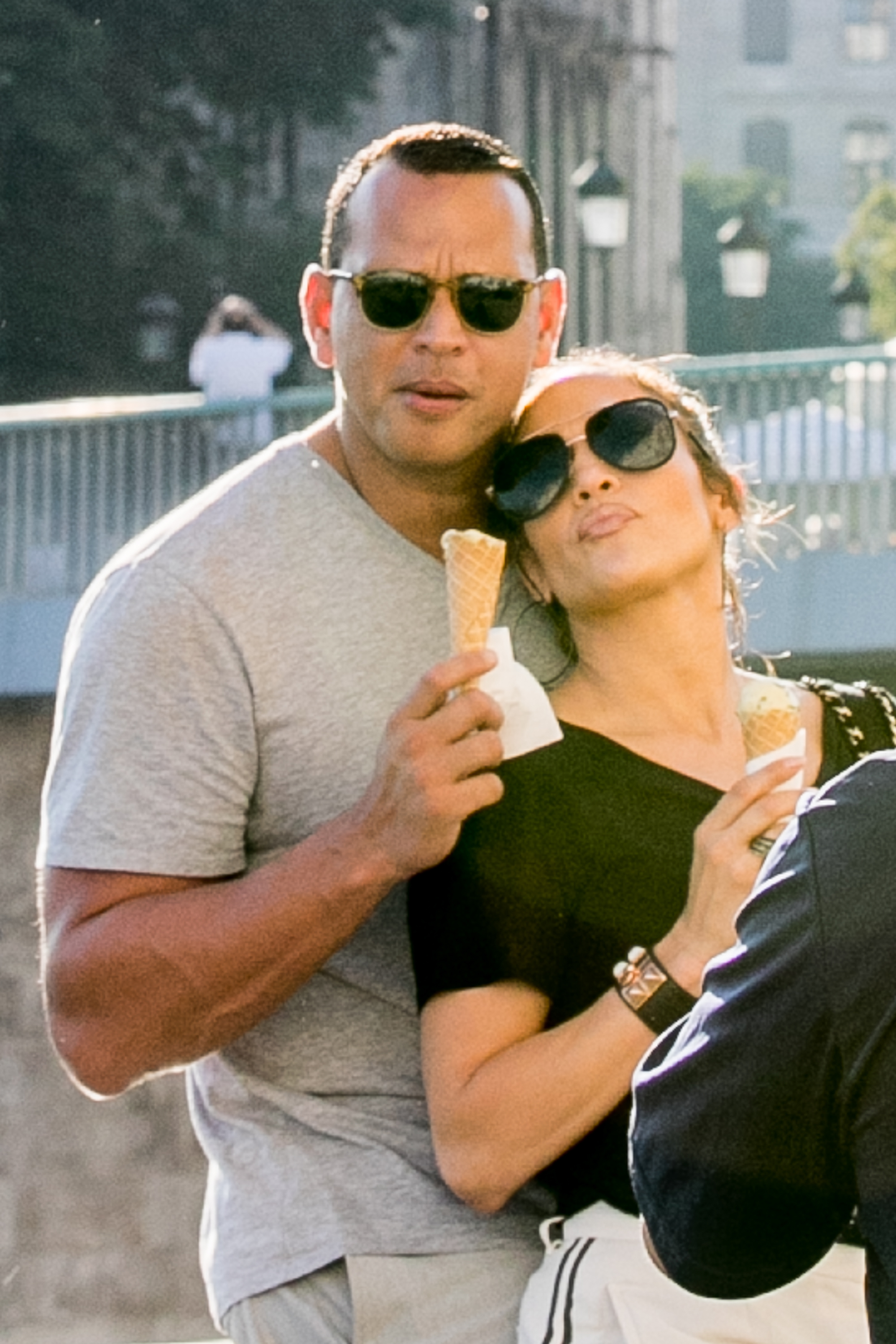 Jennifer Lopez and Alex Rodriguez Sighting In Paris - June 18, 2017
