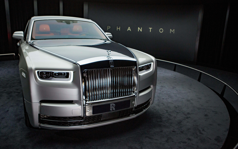 The new Rolls-Royce Phantom.