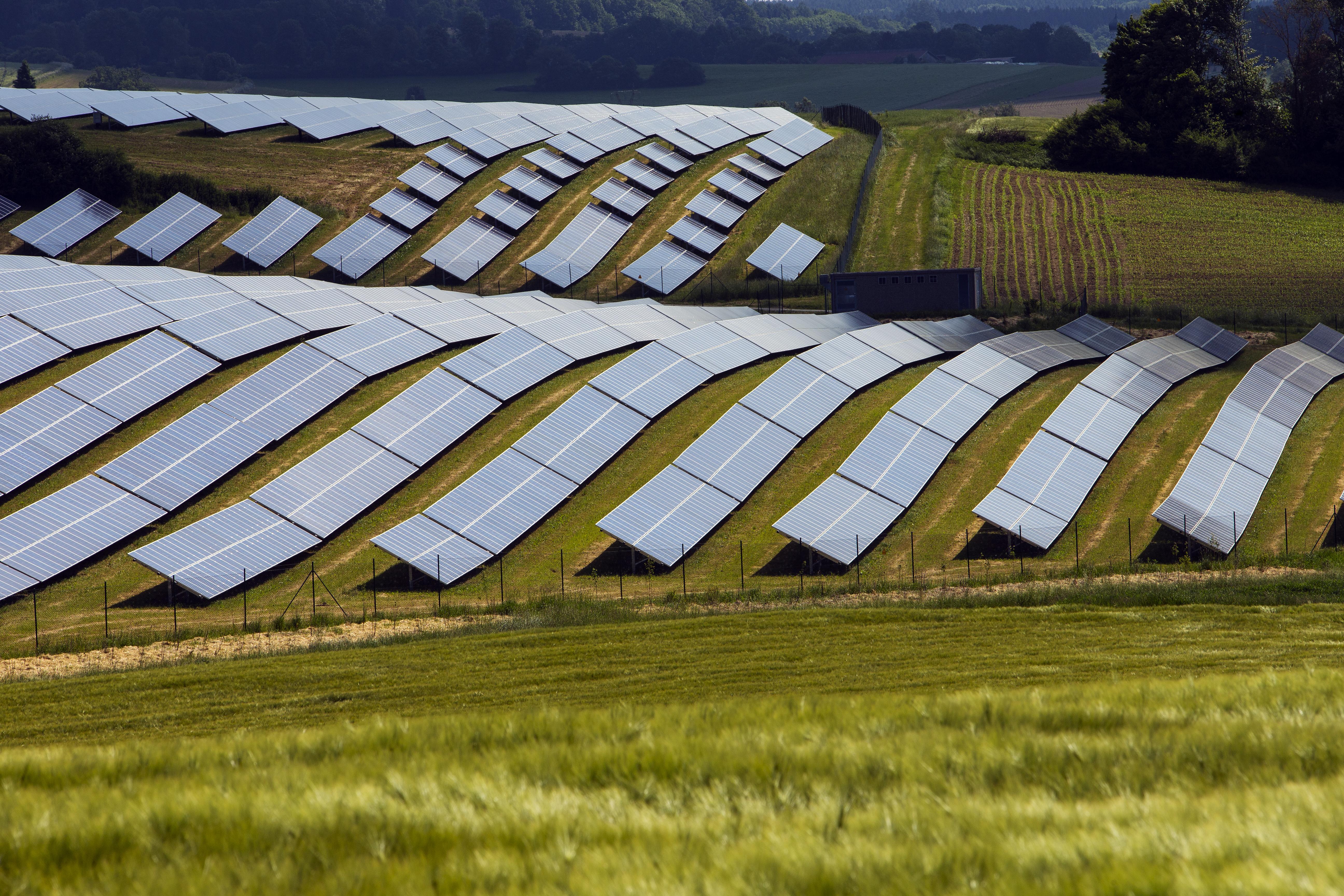 Solar farm in Bavaria