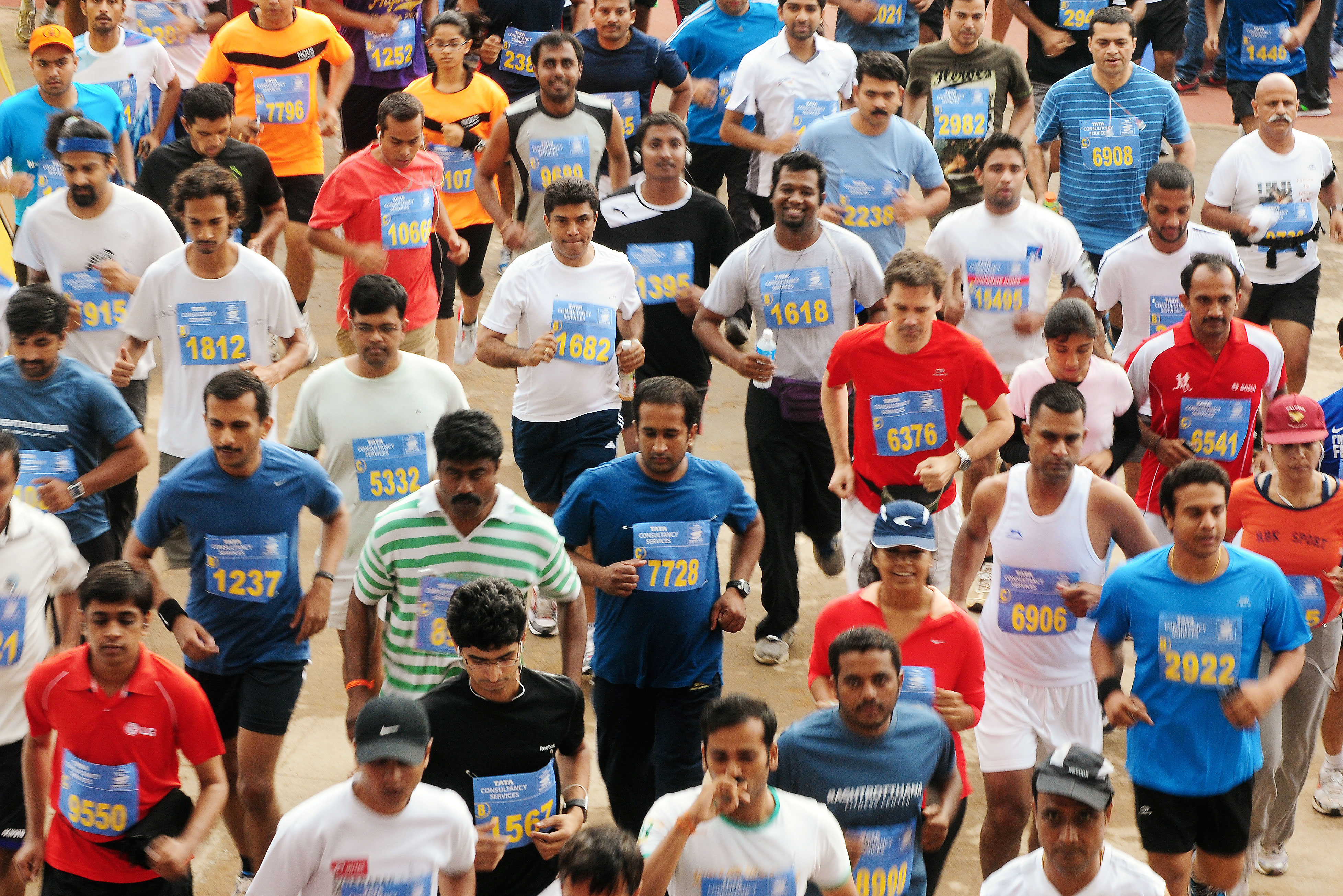 TCS World 10K run in Bangalore