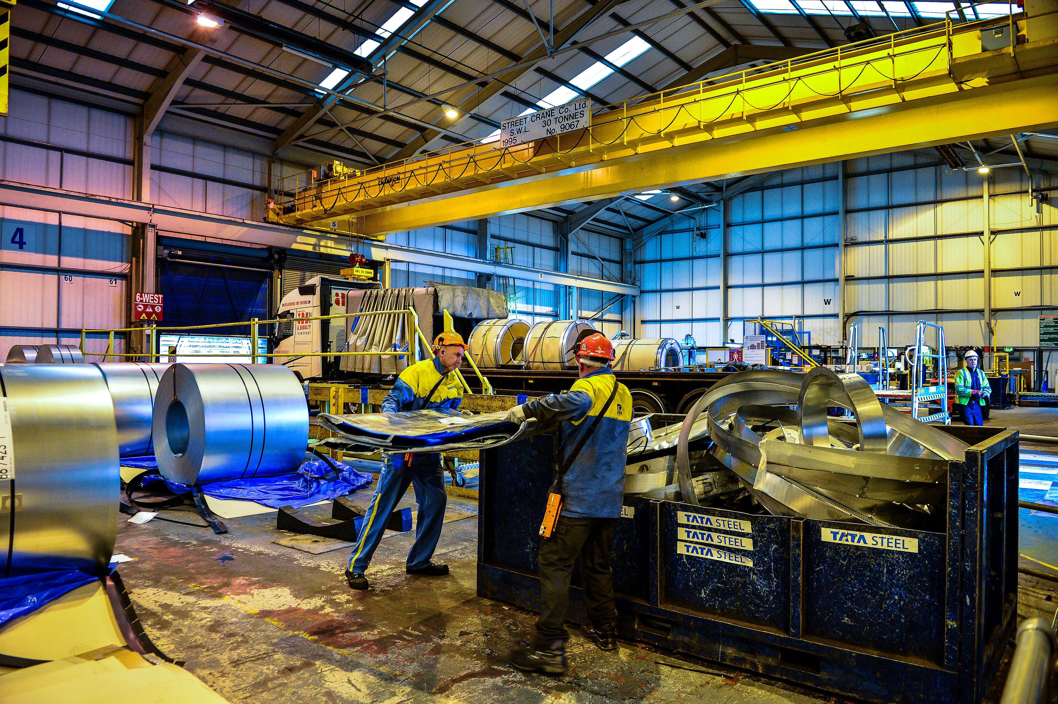 Tata Steel welding line