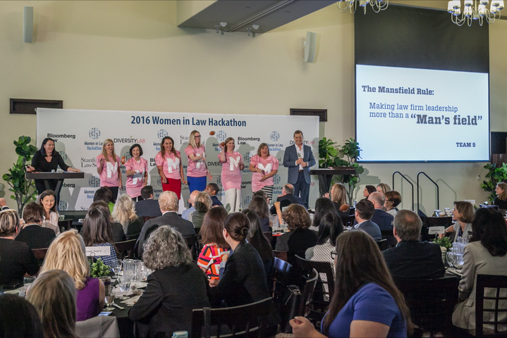 Winners of the 2016 Women in Law Hackathon