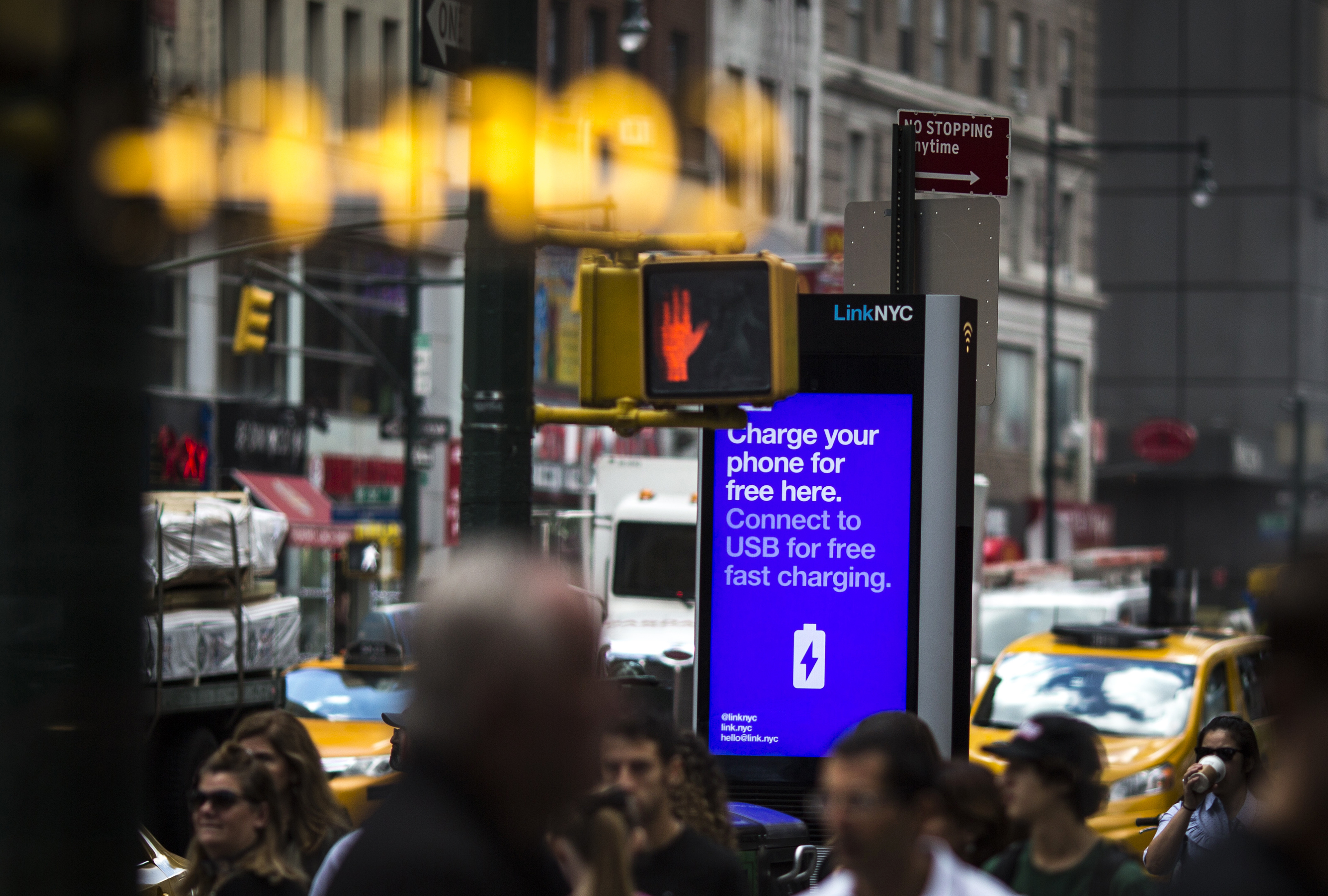 LinkNYC's Internet Kiosks As Web Browsing Capabilities Will Be Disabled