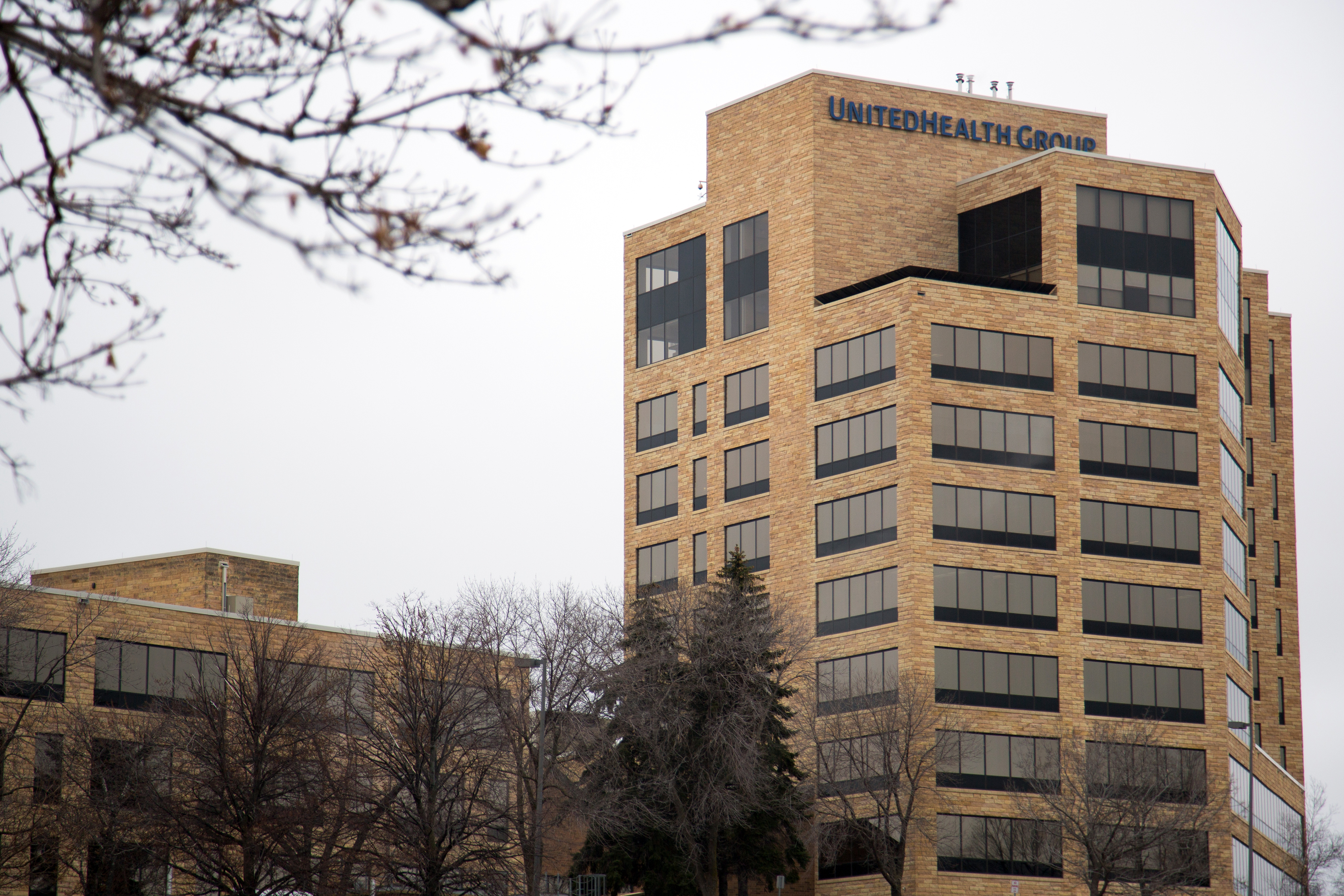 UnitedHealth Group Headquarters As They Take on CVS With Walgreens Deal