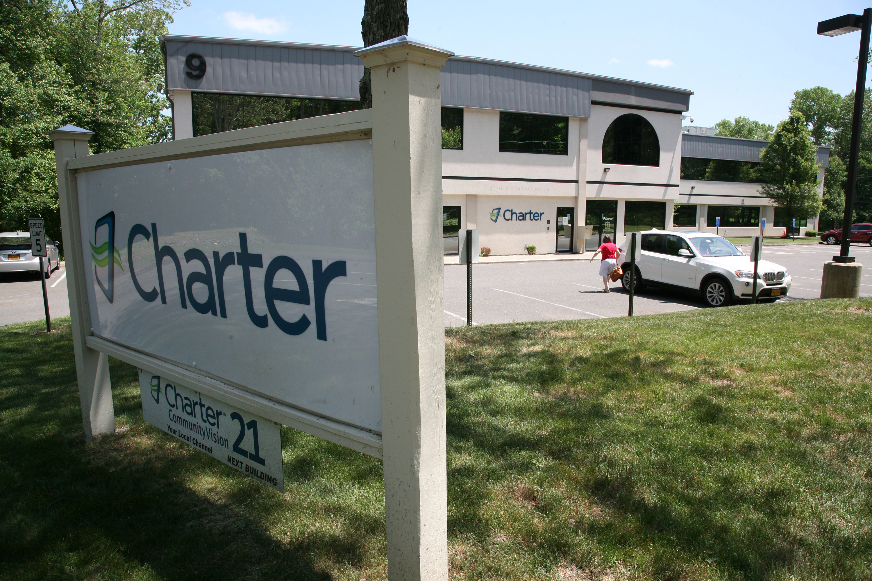 Charter Communications' office in Newtown, Conn.