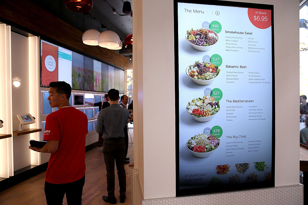 Fully Automated Fast Food Restaurant Opens In San Francisco