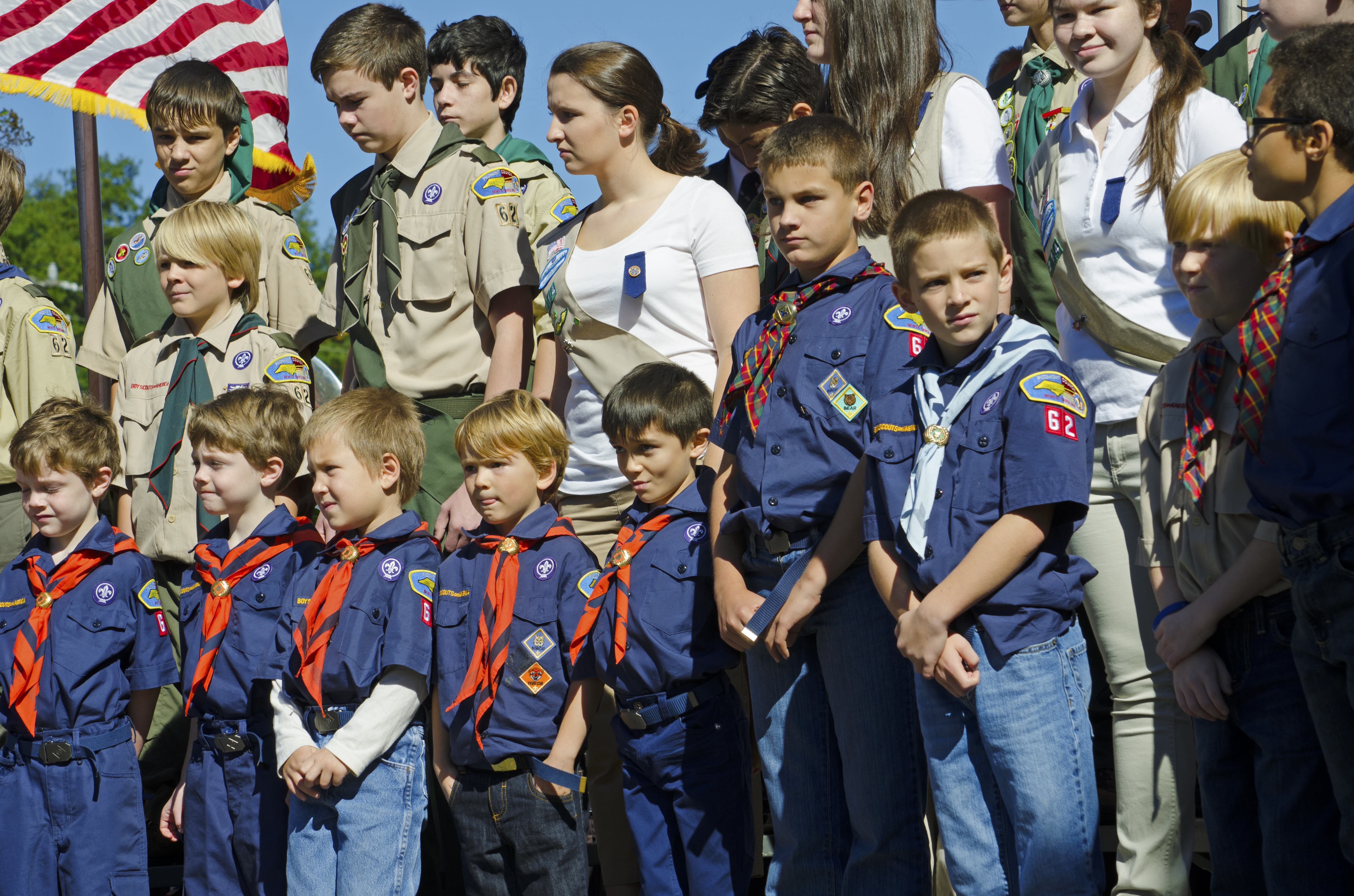 Boy Scouts and Girl Scouts