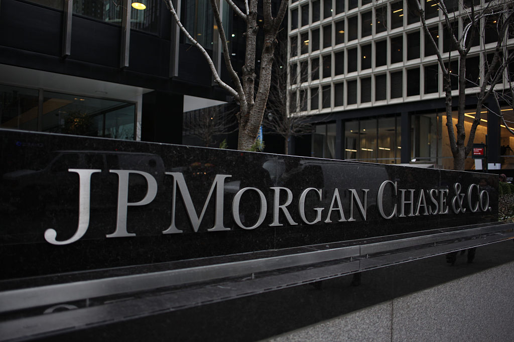 The JP Morgan Chase & Co. headquarters, The JP Morgan Chase Tower in Park Avenue, Midtown, Manhattan