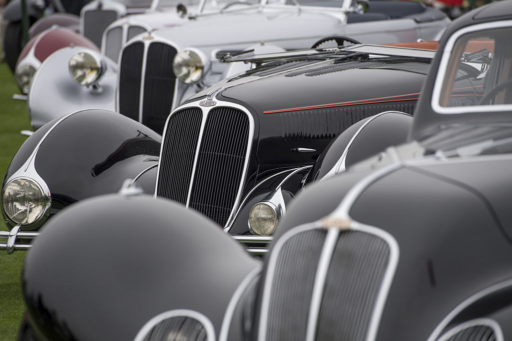 Inside The Pebble Beach Concours d'Elegance Classic Car Show And Auction