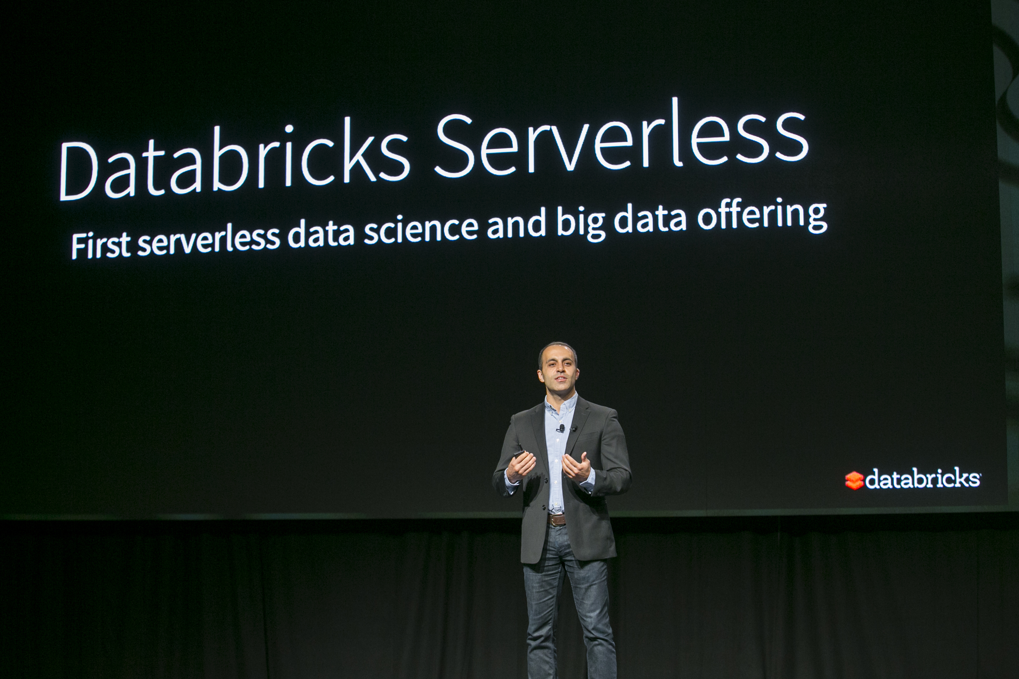 Databricks co-founder and CEO Ali Ghosdi