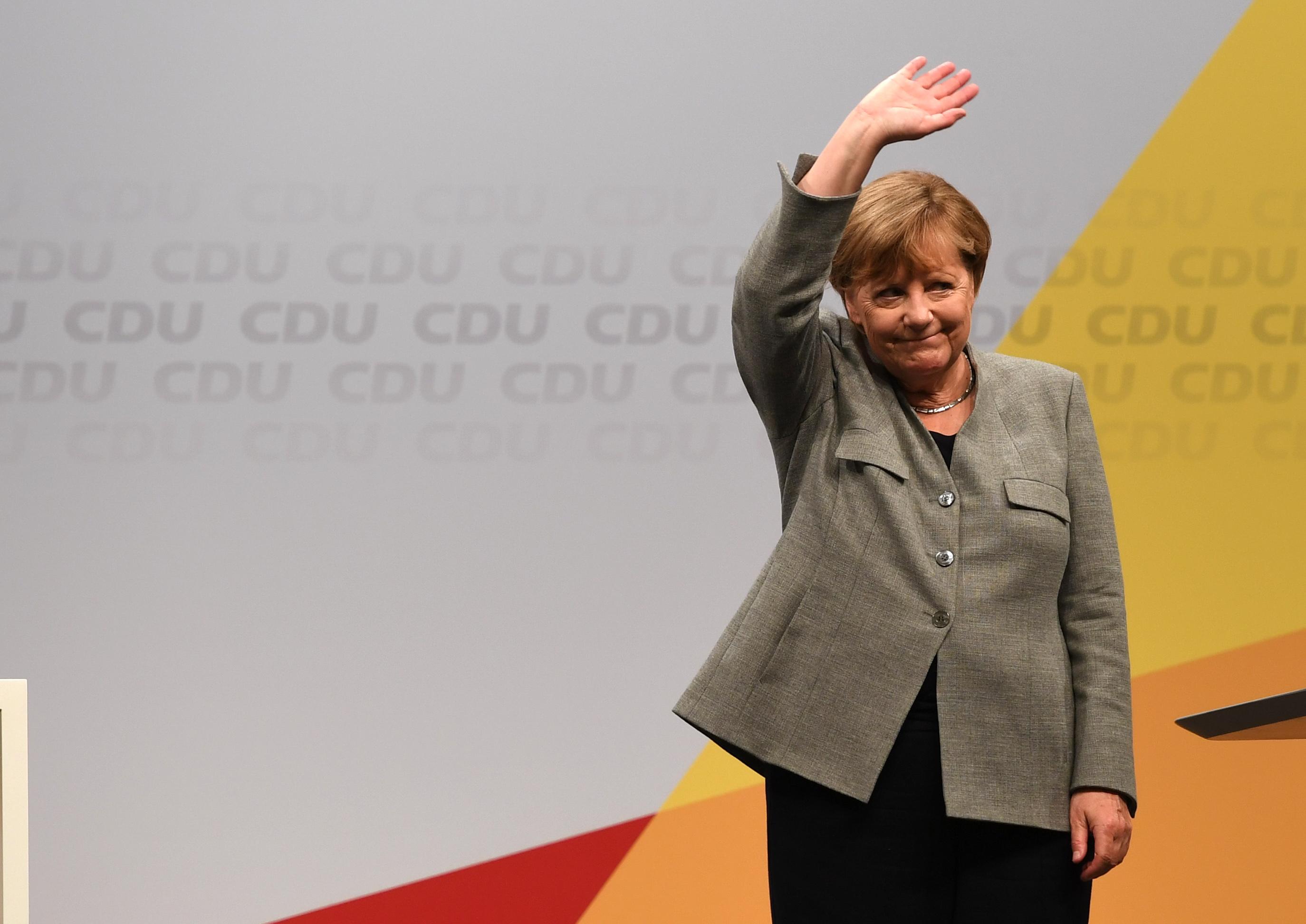 GERMANY-POLITICS-MERKEL