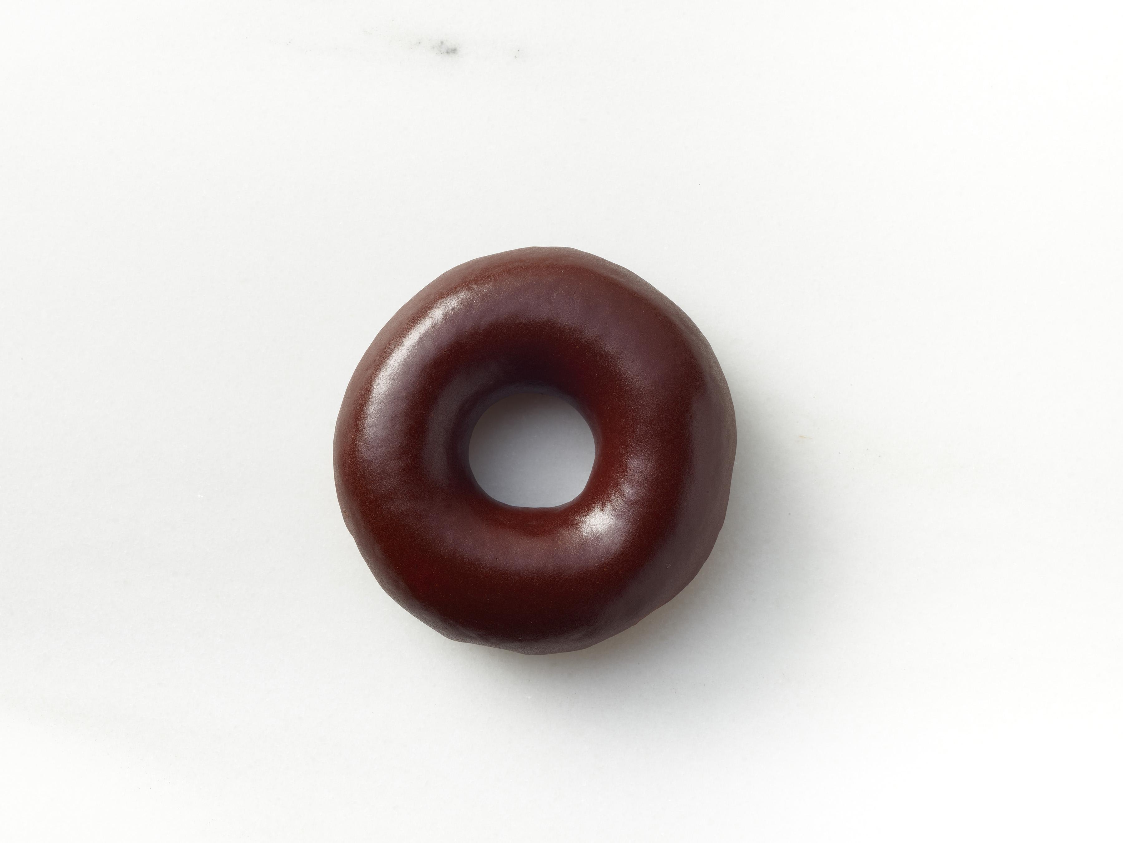 The new chocolate glazed doughnut.