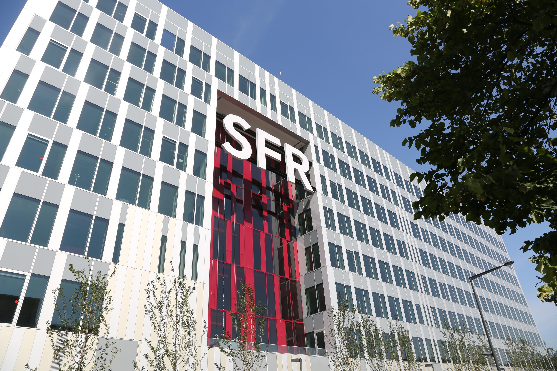 SFR campus in Saint-Denis