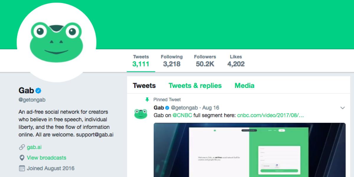 Social Network Gab Raises $1 Million in Crowdfunding | Fortune