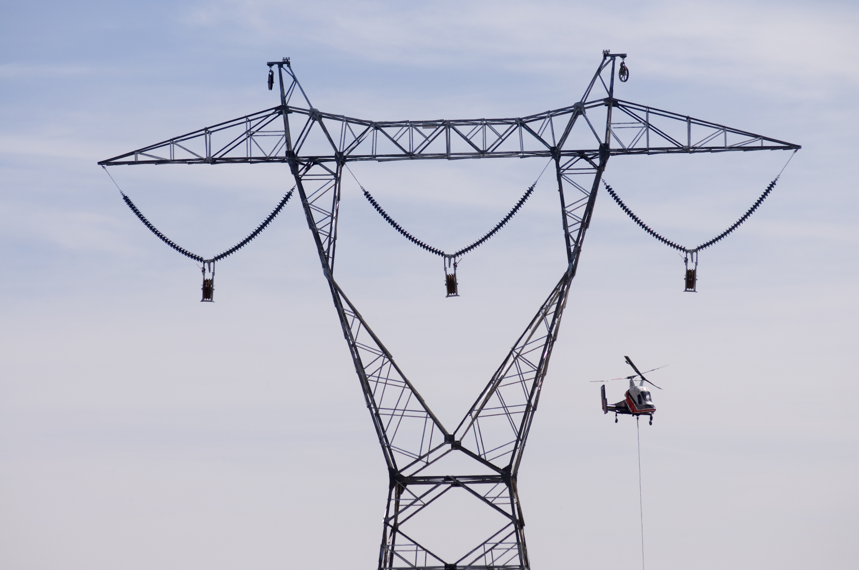 General Views Of Sunrise Powerlink Construction