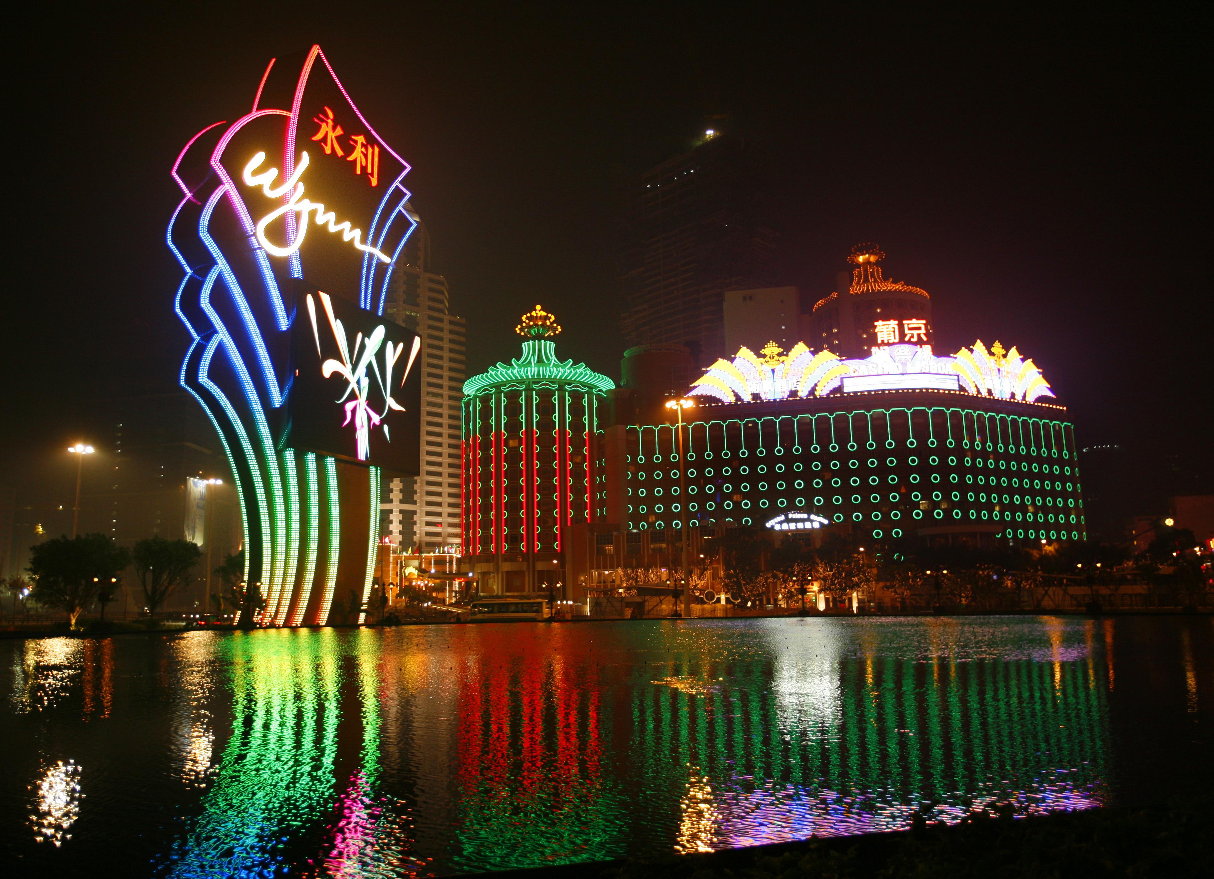 China - Macau - Casino Lisboa and Wynn Casino & Hotel