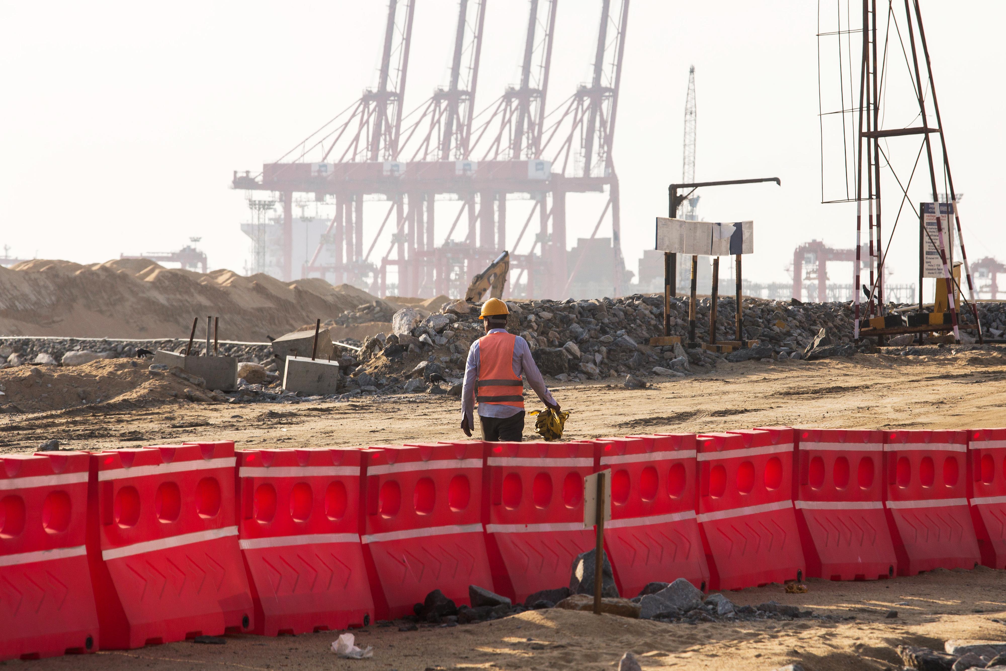 Construction At Port City And The Luxury BeachFront Shangri-La