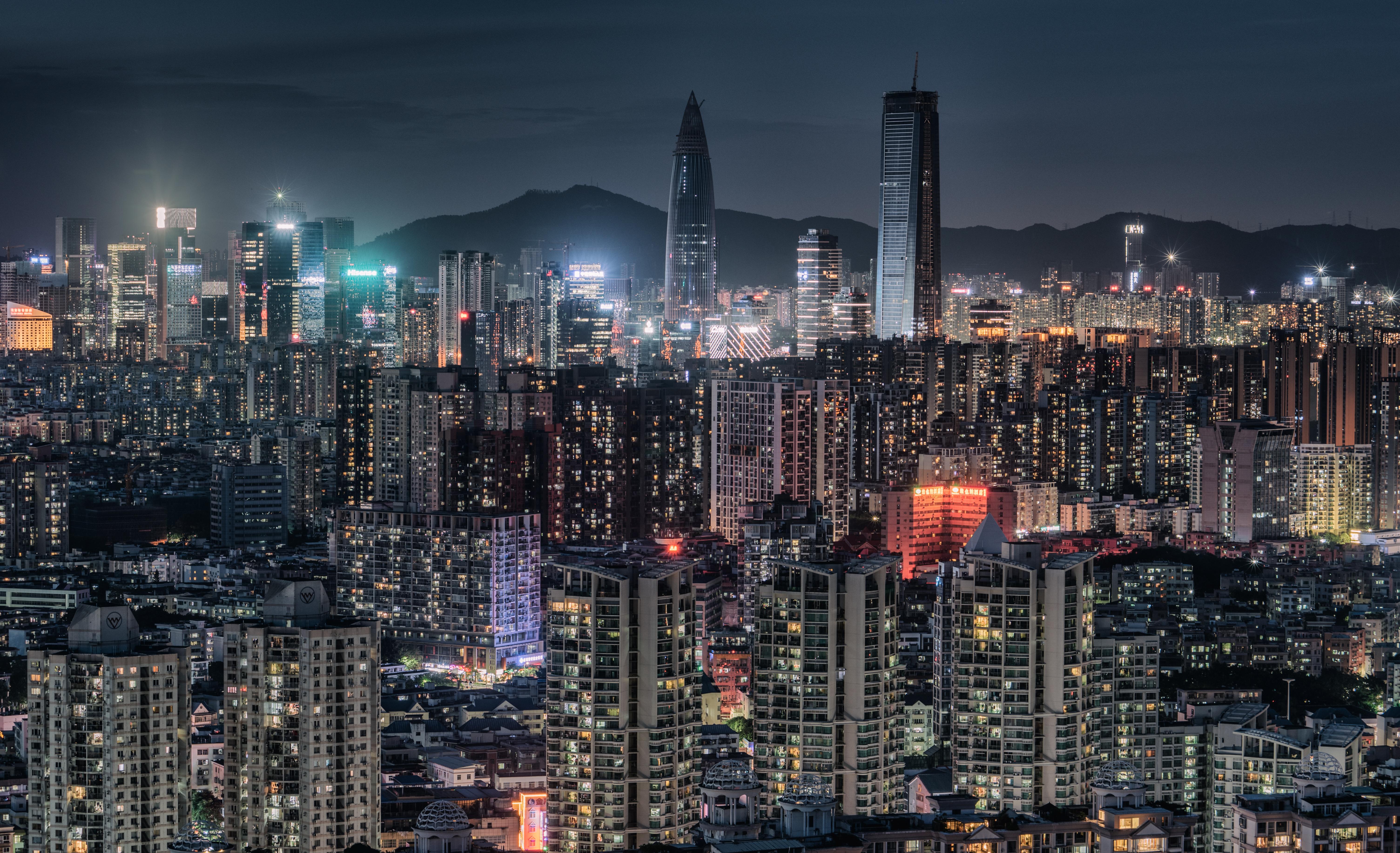 Night of nanshan,Shenzhen City