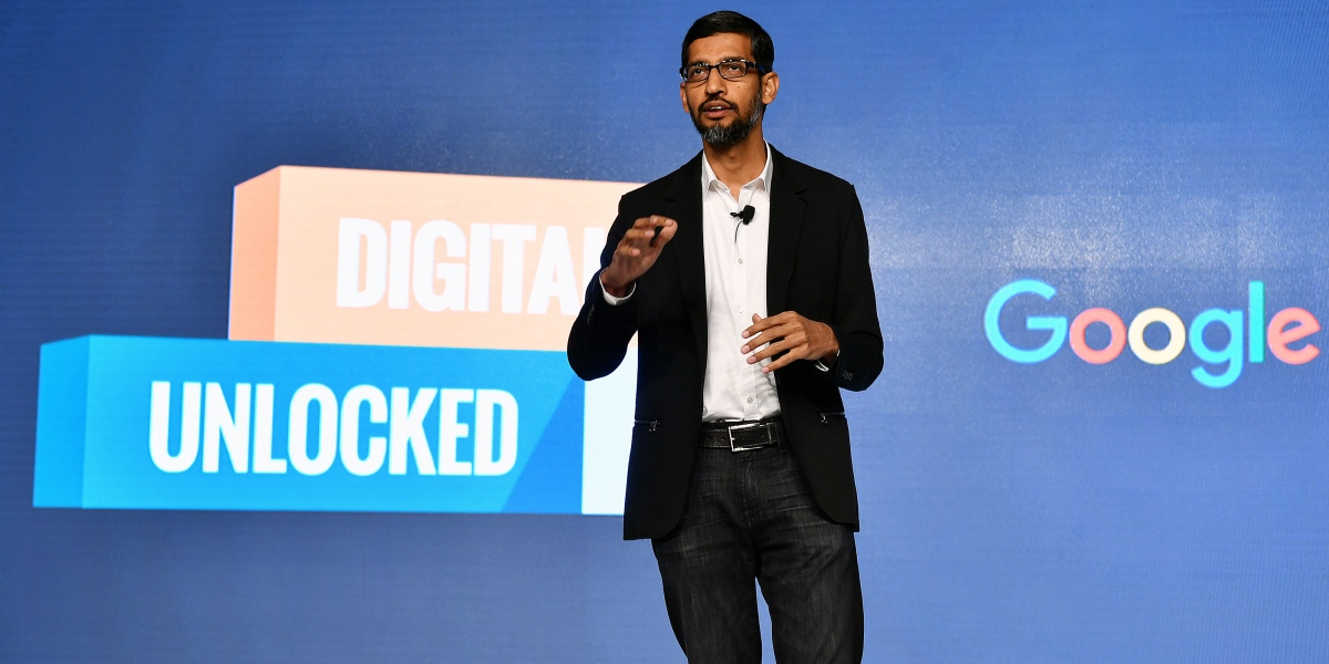 Google CEO Sundar Pichai Isn't Stressed Over Privacy, But Investors May Have Reason to Worry