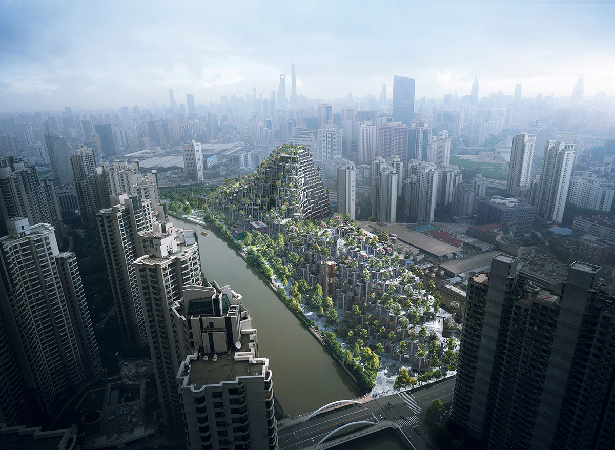 Chinese Social Media is Atwitter over Thomas Heatherwick 1000 Trees Shanghai