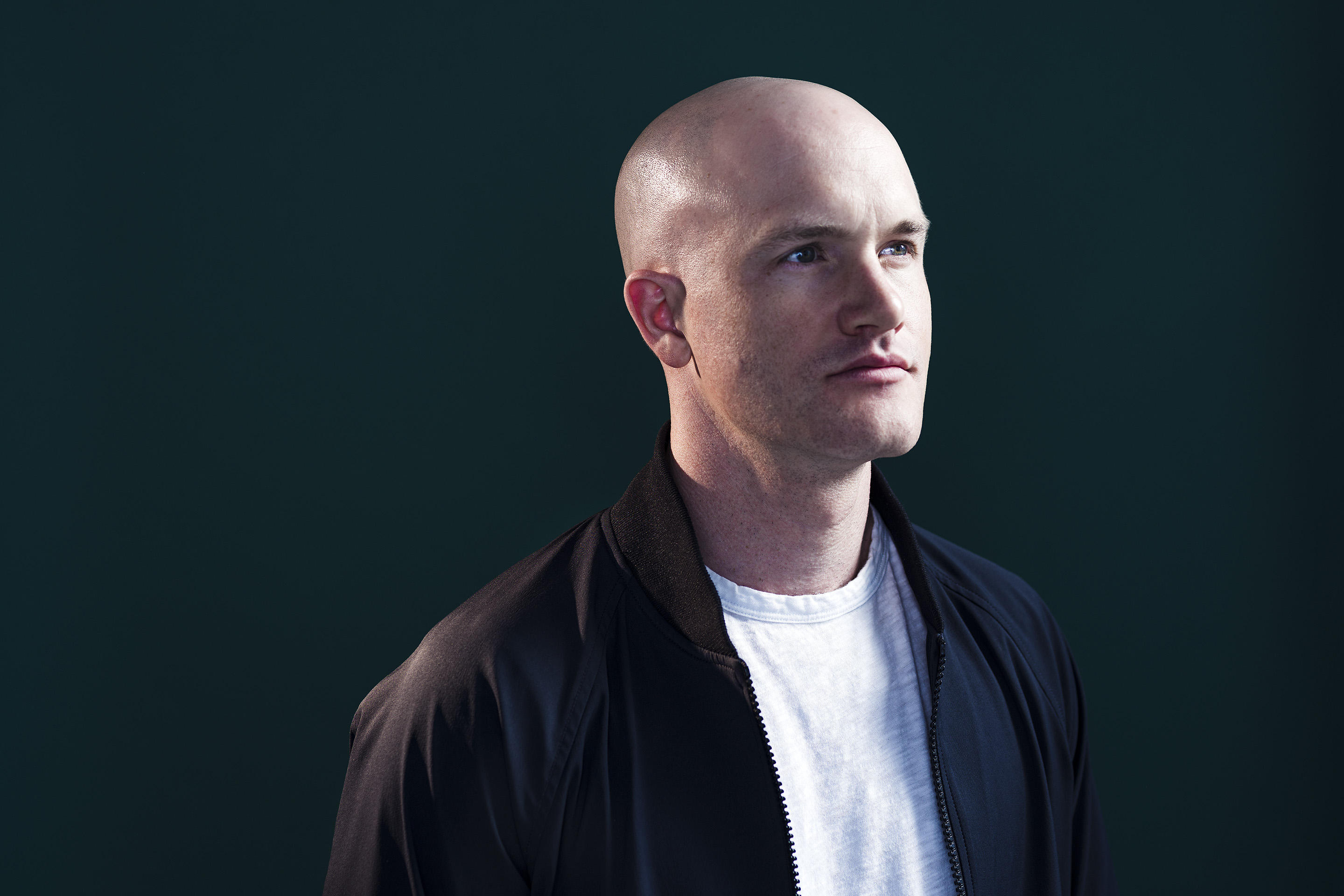 Portrait of Brian Armstrong, CEO of Coinbase at the company's headquarter in San Francisco, CA. Photo by Winni Wintermeyer. August 7, 2017.