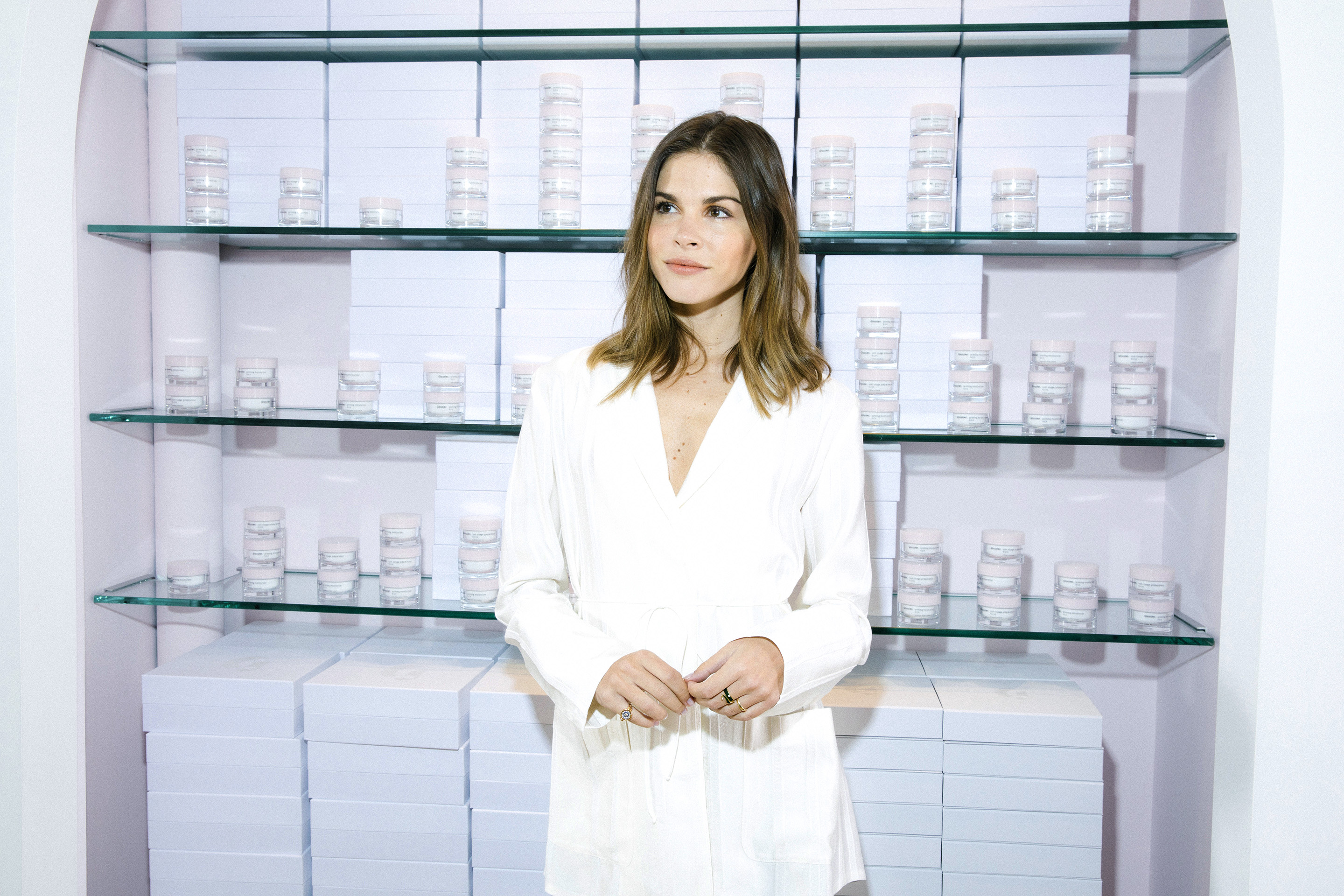 Emily Weiss, founder and CEO of Into The Gloss and Glossier